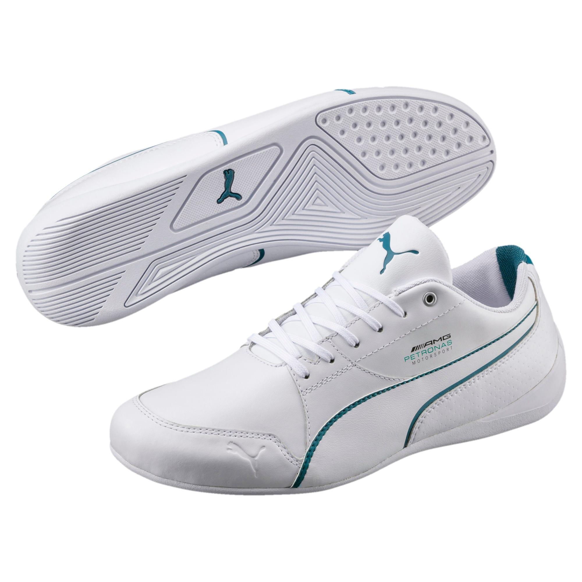 Thumbnail 2 of Mercedes AMG Petronas Motorsport Drift Cat 7 Shoes, Puma White-Puma White, medium