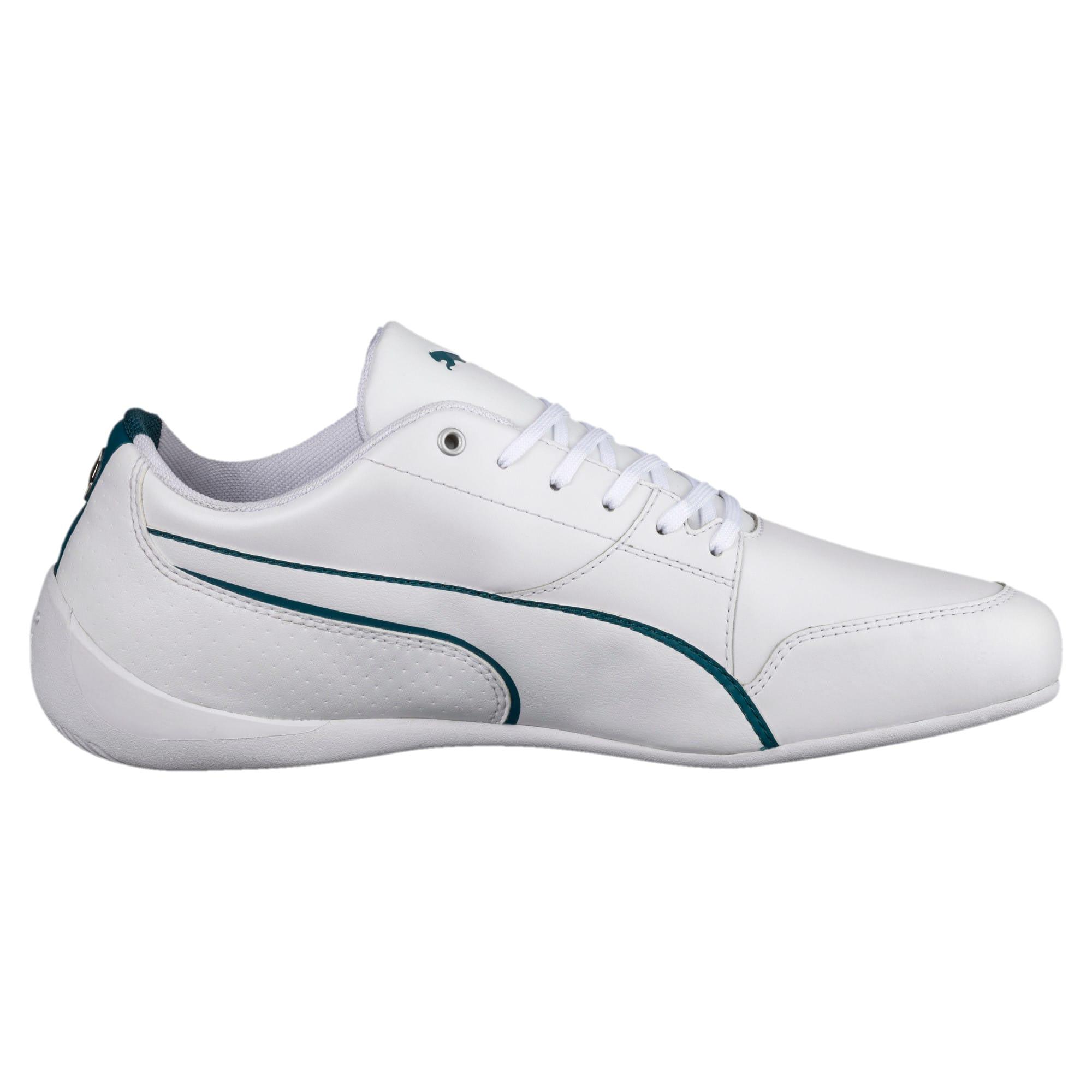 Thumbnail 3 of Mercedes AMG Petronas Motorsport Drift Cat 7 Shoes, Puma White-Puma White, medium