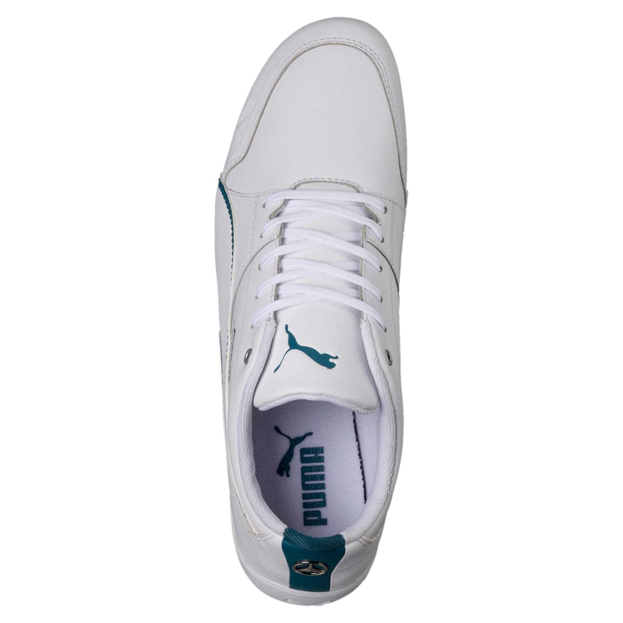 Thumbnail 5 of Mercedes AMG Petronas Motorsport Drift Cat 7 Shoes, Puma White-Puma White, medium