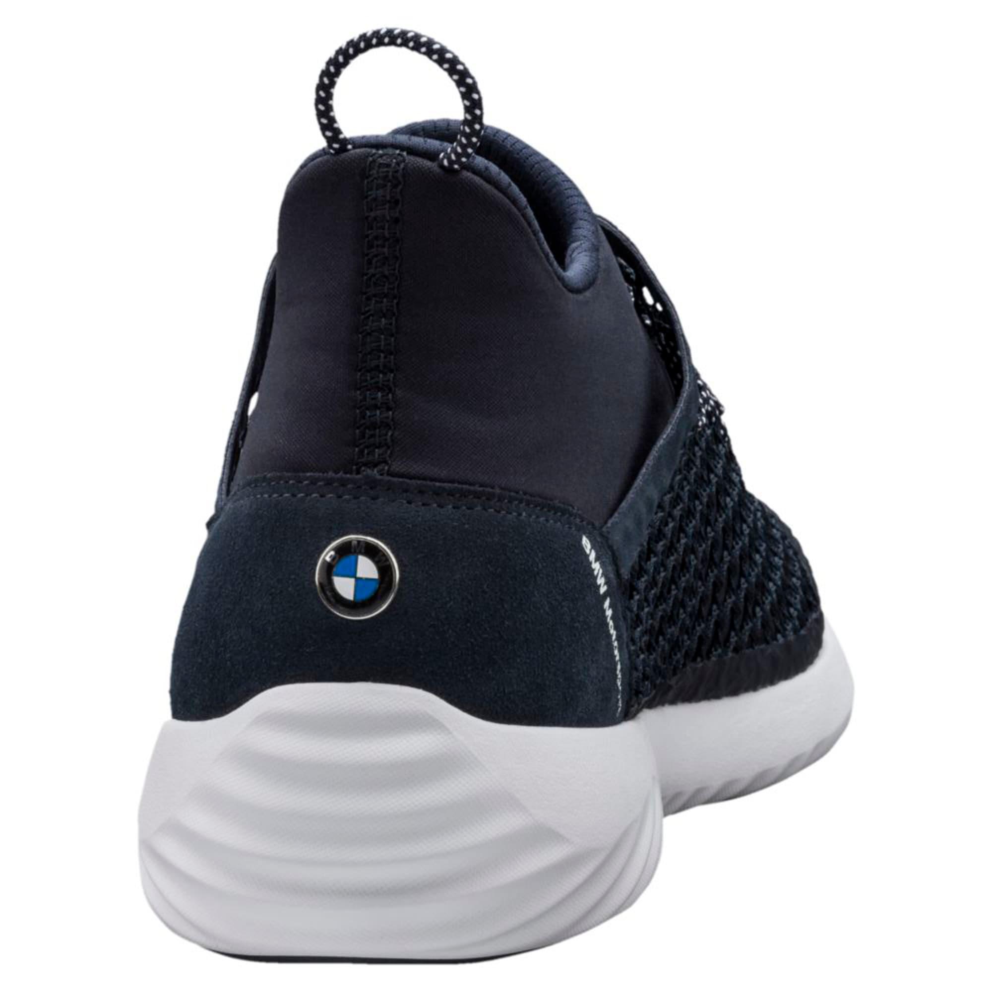 Thumbnail 4 of BMW Motorsport Speed Cat netFIT Blue Trainers, Team Blue-Team Blue-Puma Wht, medium-IND