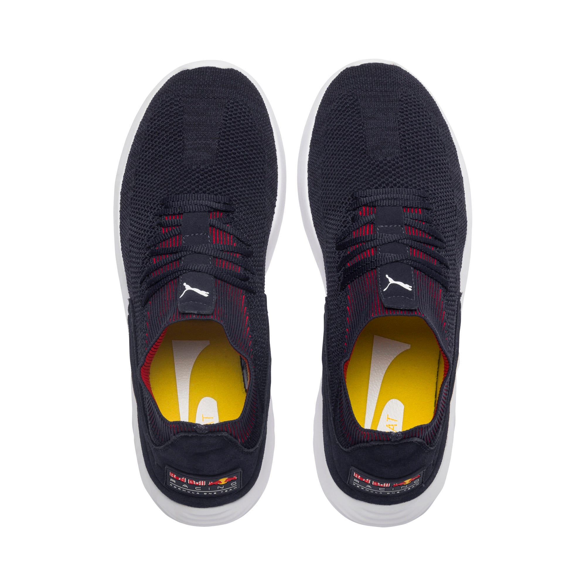 Thumbnail 6 of Red Bull Racing SpeedCat Wings Trainers, NIGHT SKY-Chinese Red-Wht, medium-IND