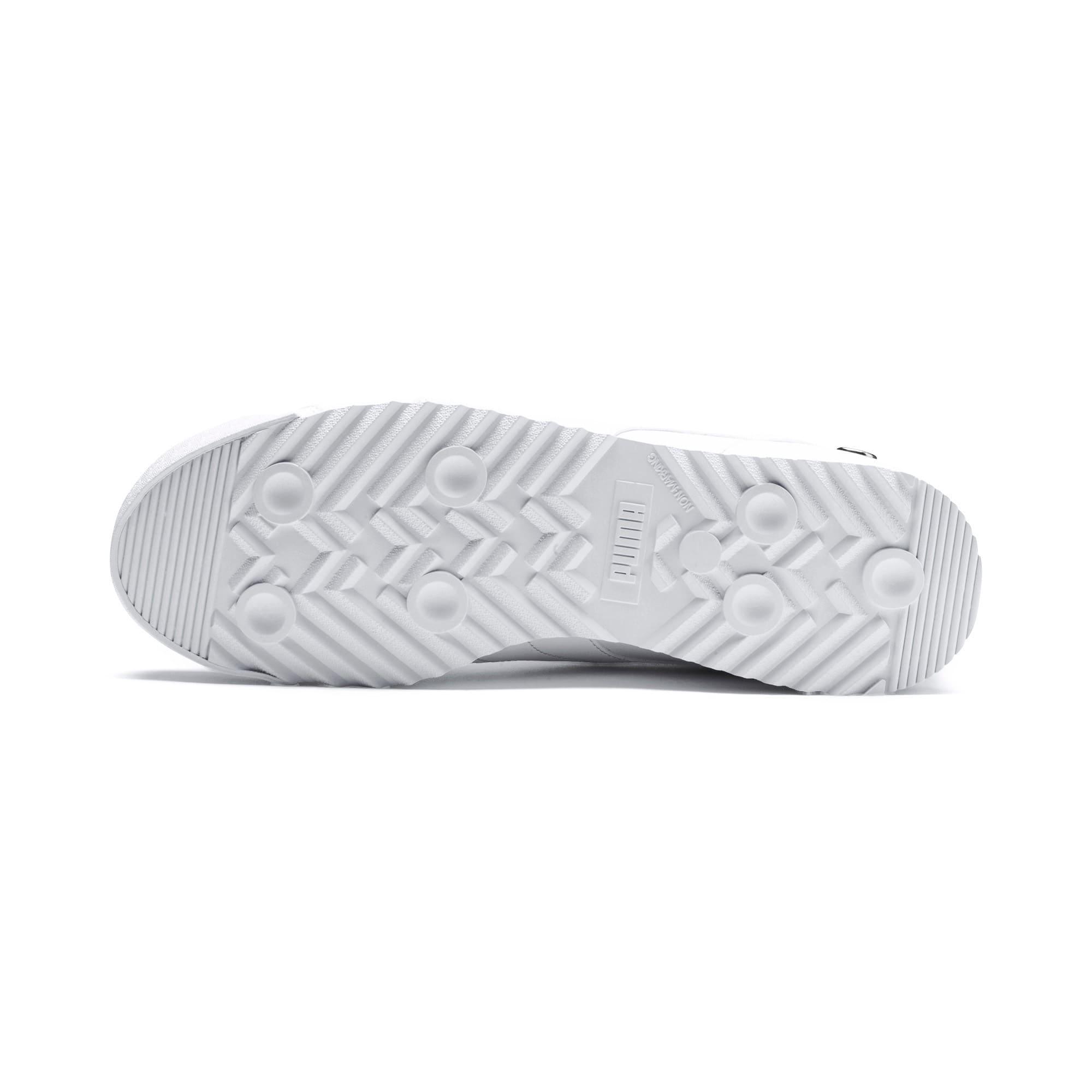 Thumbnail 4 of BMW M Motorsport Roma Men's Sneakers, Puma White-Puma White, medium