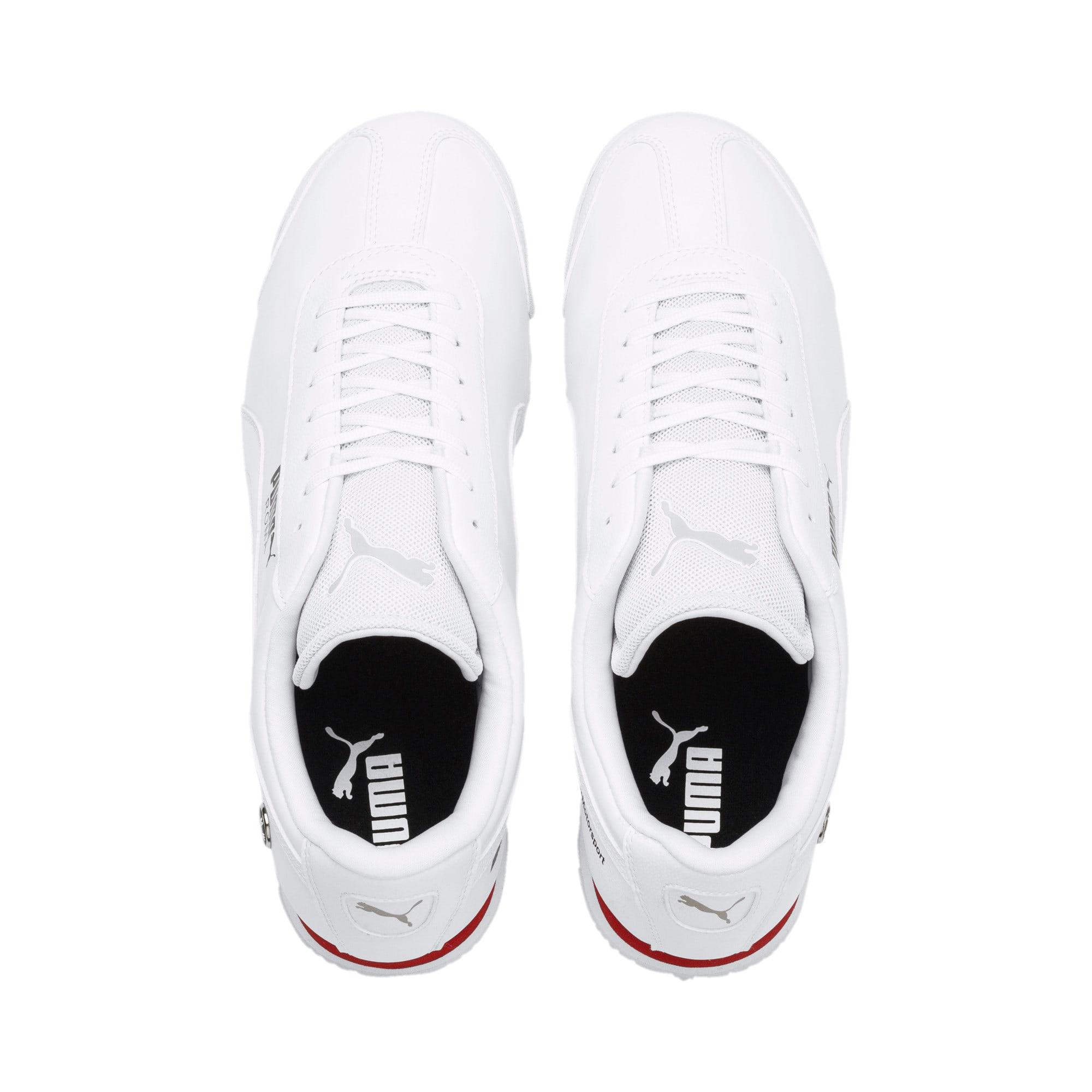 Thumbnail 6 of BMW M Motorsport Roma Men's Sneakers, Puma White-Puma White, medium
