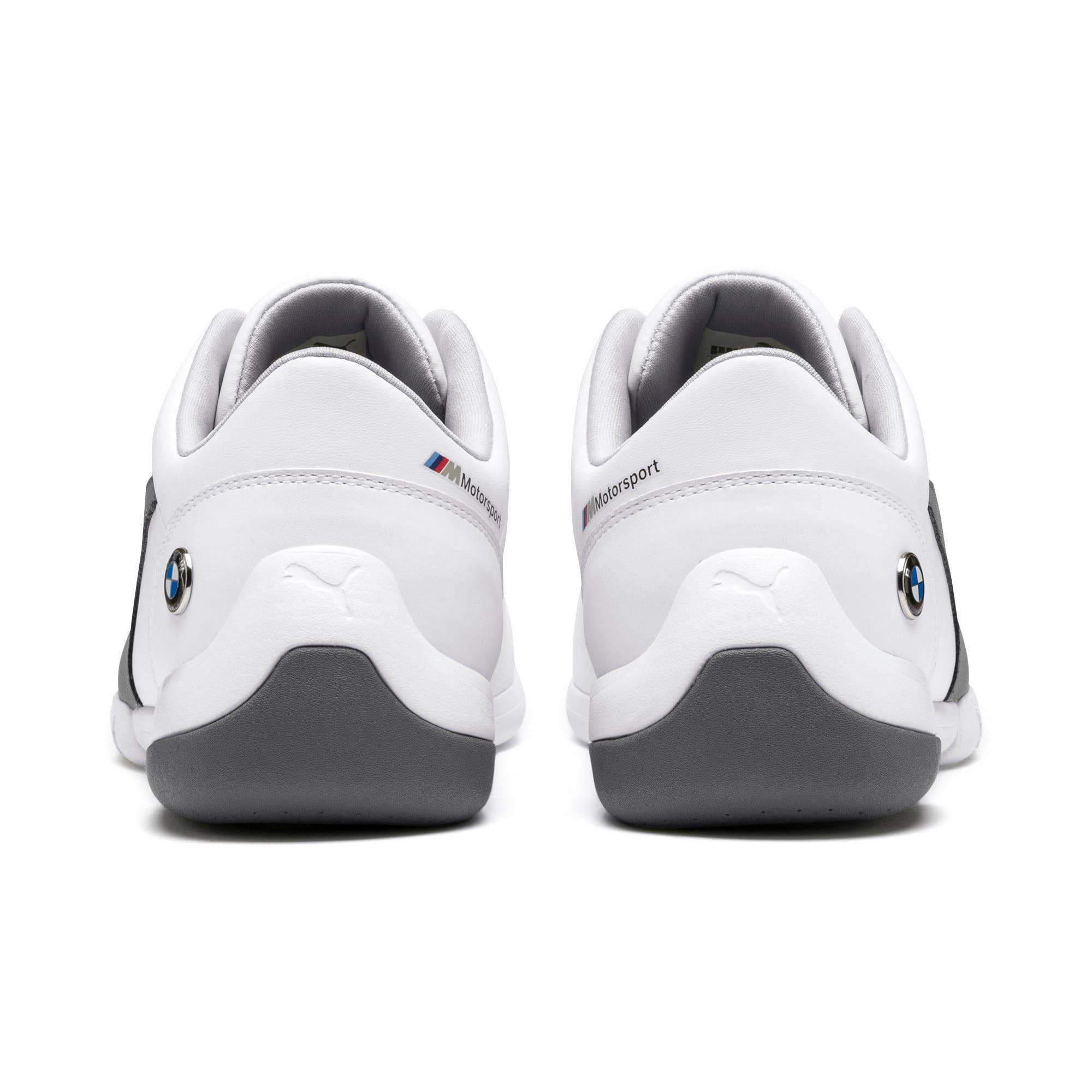 Thumbnail 4 of BMW M Motorsport Kart Cat III Shoes, Puma White-Smoked Pearl, medium