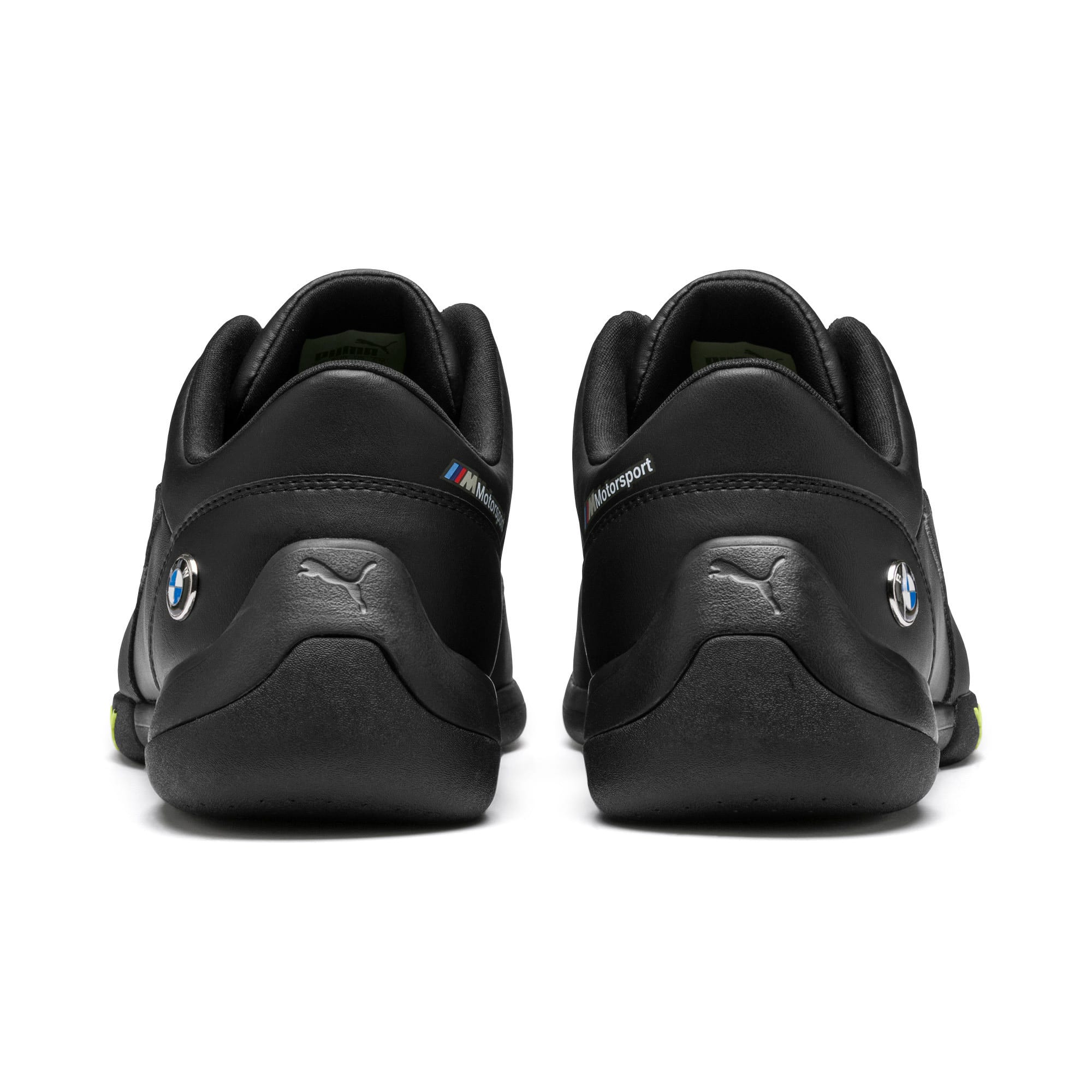 Thumbnail 4 of BMW M Motorsport Kart Cat III Trainers, Puma Black-Fizzy Yellow, medium