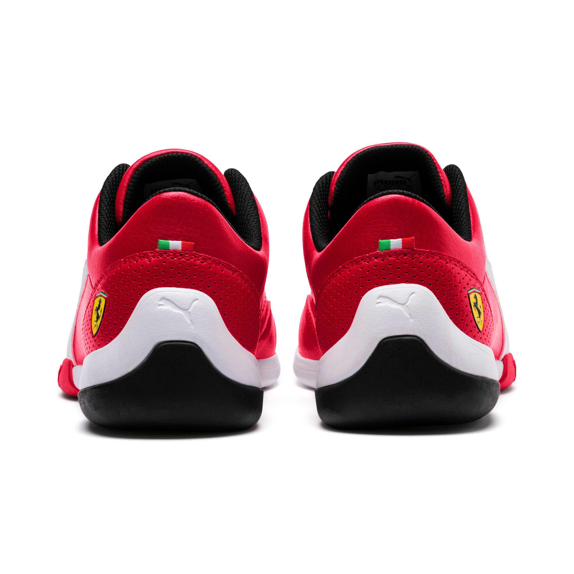 Thumbnail 3 of Scuderia Ferrari Kart Cat III Shoes, Rosso Corsa-Puma White, medium