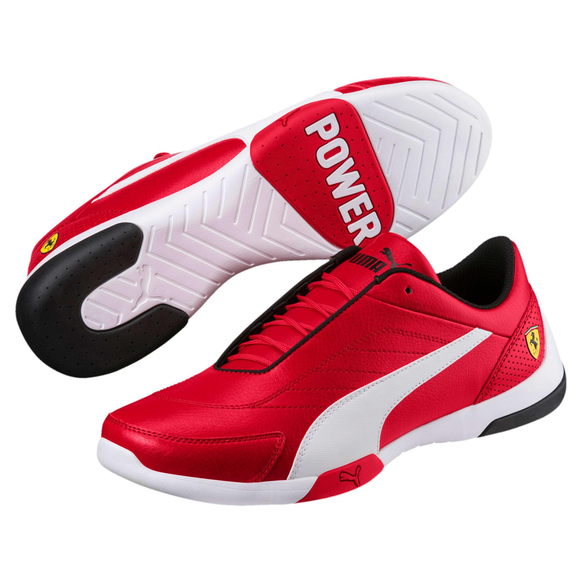 Thumbnail 2 of Scuderia Ferrari Kart Cat III Shoes, Rosso Corsa-Puma White, medium