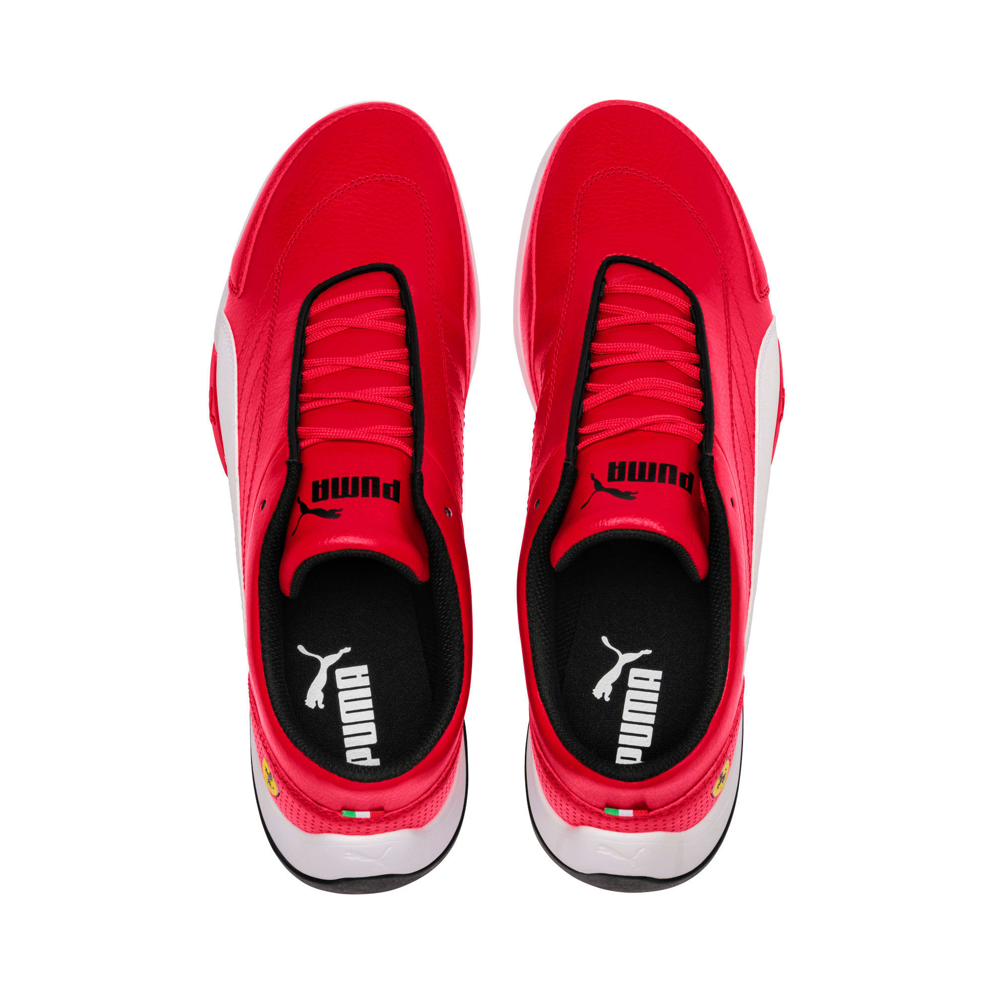 Thumbnail 6 of Scuderia Ferrari Kart Cat III Shoes, Rosso Corsa-Puma White, medium