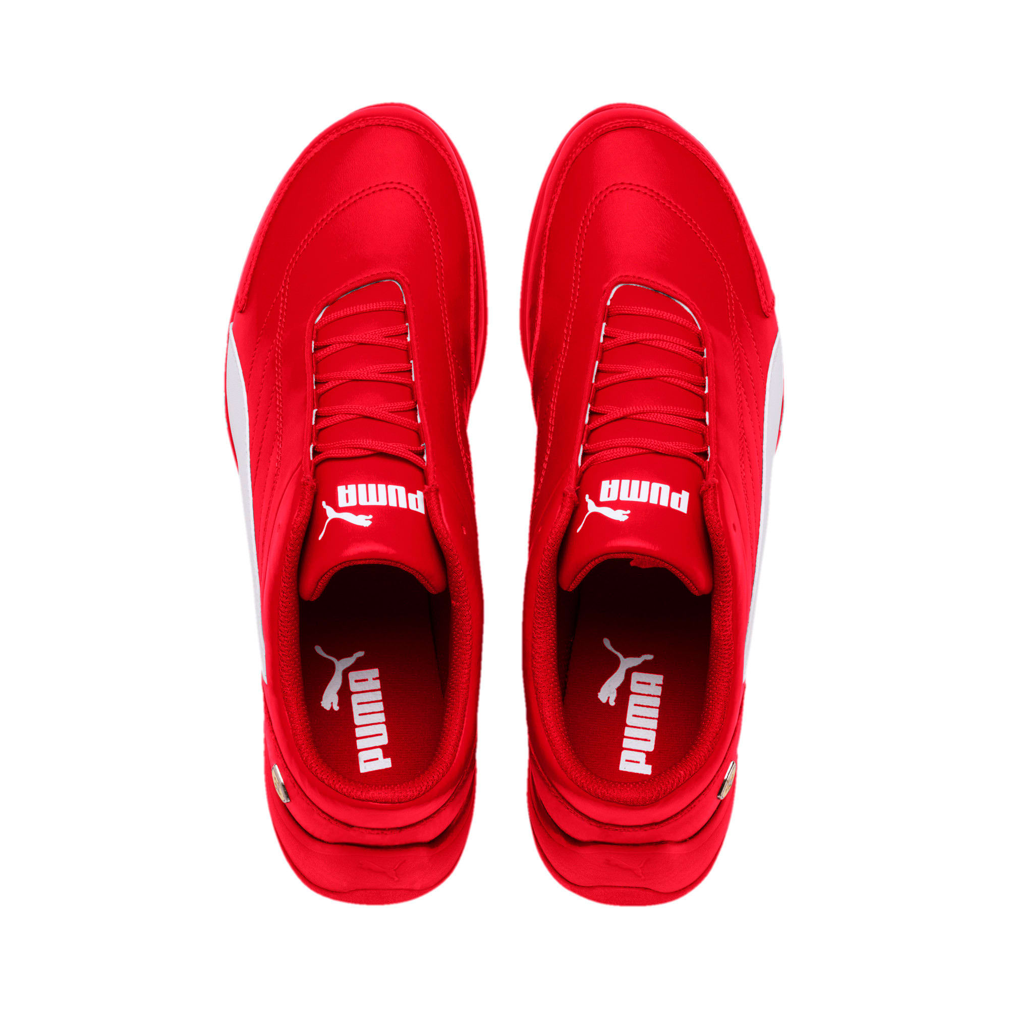 Thumbnail 7 of Scuderia Ferrari Kart Cat III Shoes, Rosso Corsa-White, medium