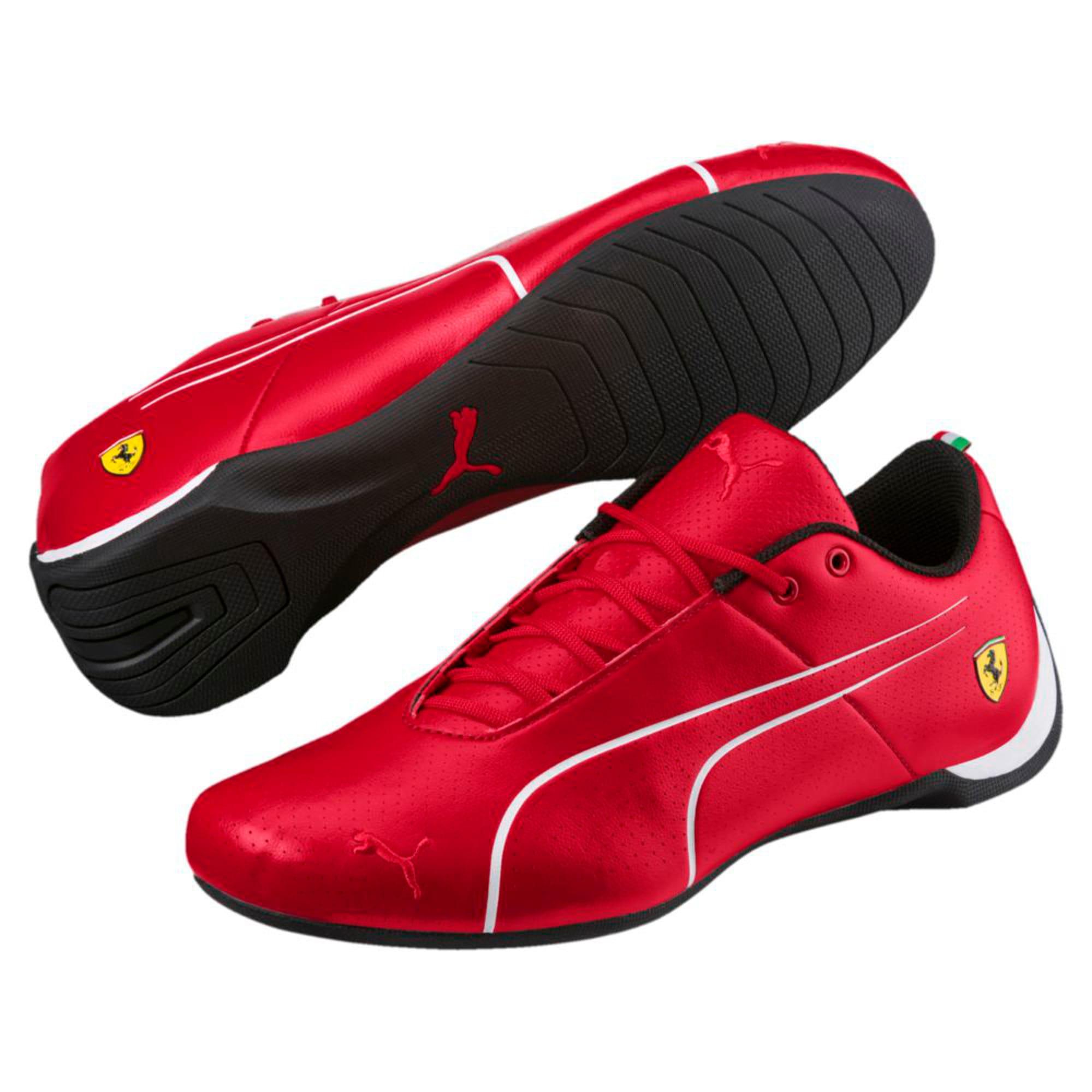 Thumbnail 2 of Ferrari Future Cat Ultra Trainers, Rosso Corsa-Puma White, medium-IND