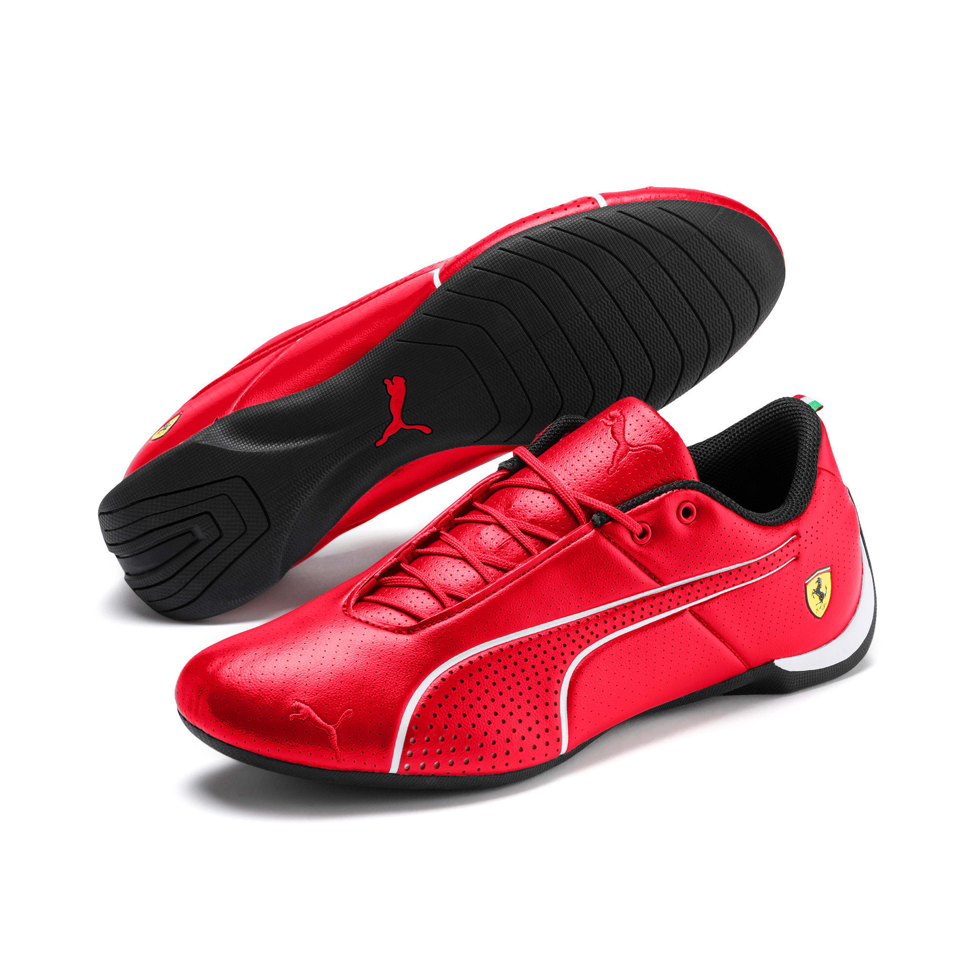 Thumbnail 2 of Scuderia Ferrari Future Cat Ultra Shoes, Rosso Corsa-Puma White, medium
