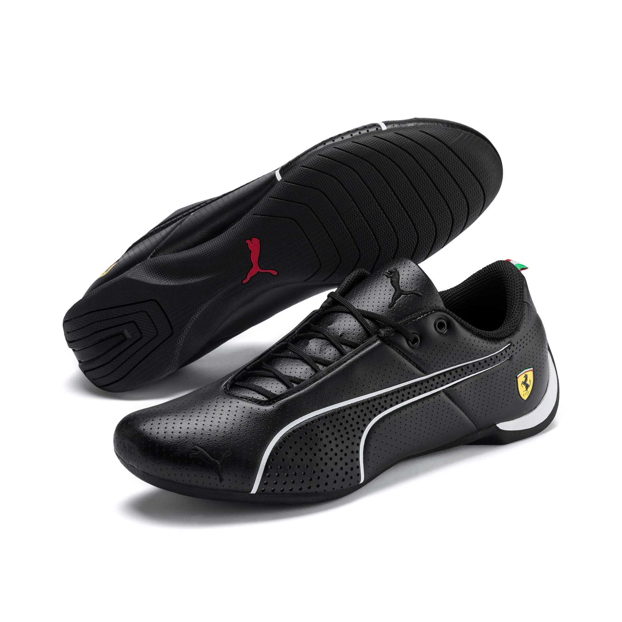 Thumbnail 2 of Ferrari Future Cat Ultra Trainers, Puma Black-Puma White, medium