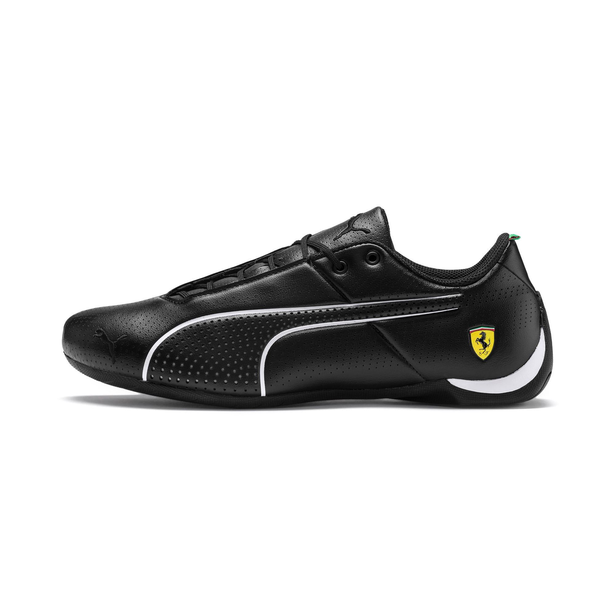 Thumbnail 1 of Scuderia Ferrari Future Cat Ultra Shoes, Puma Black-Puma White, medium