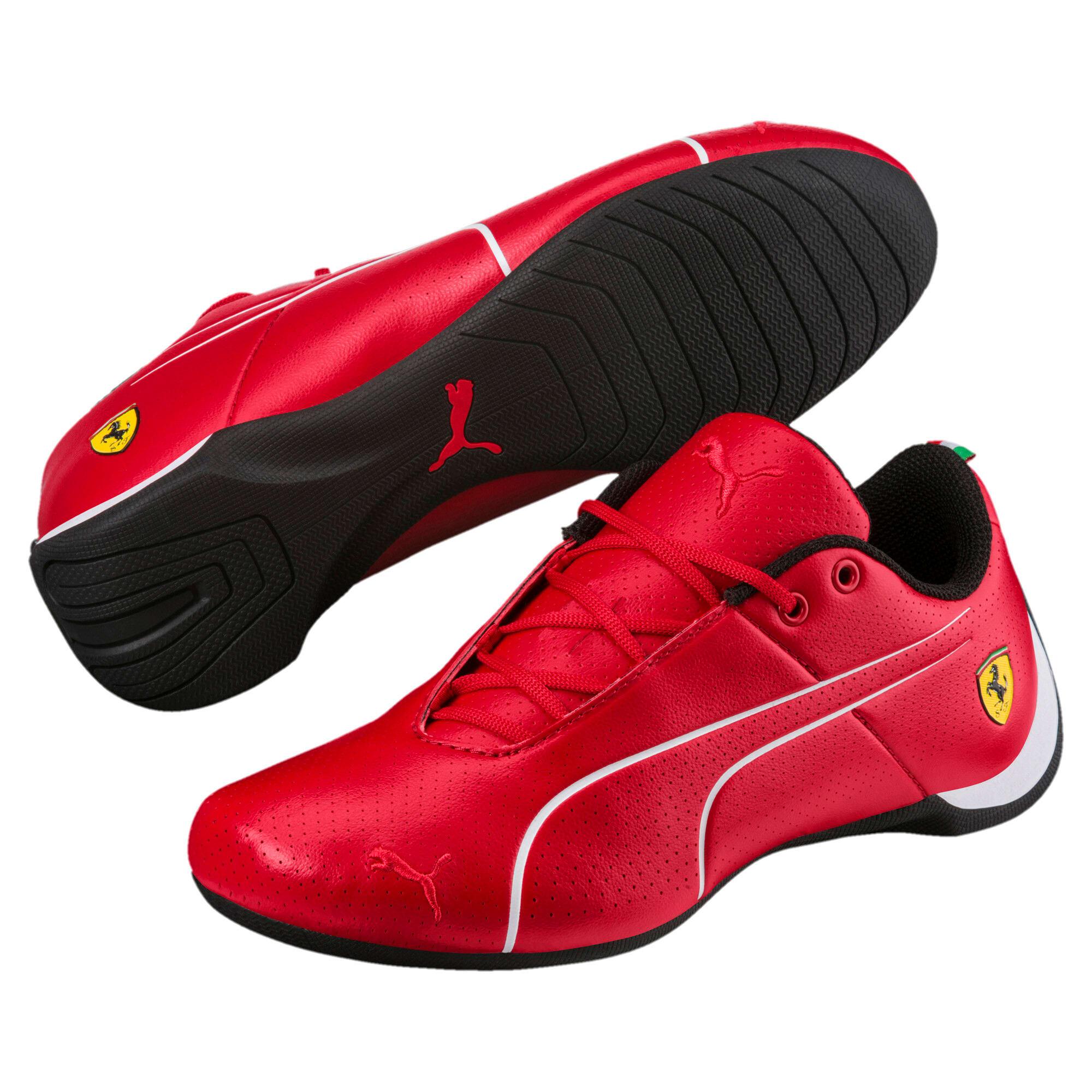 Thumbnail 2 of Scuderia Ferrari Future Cat Ultra Shoes JR, Rosso Corsa-Puma White, medium