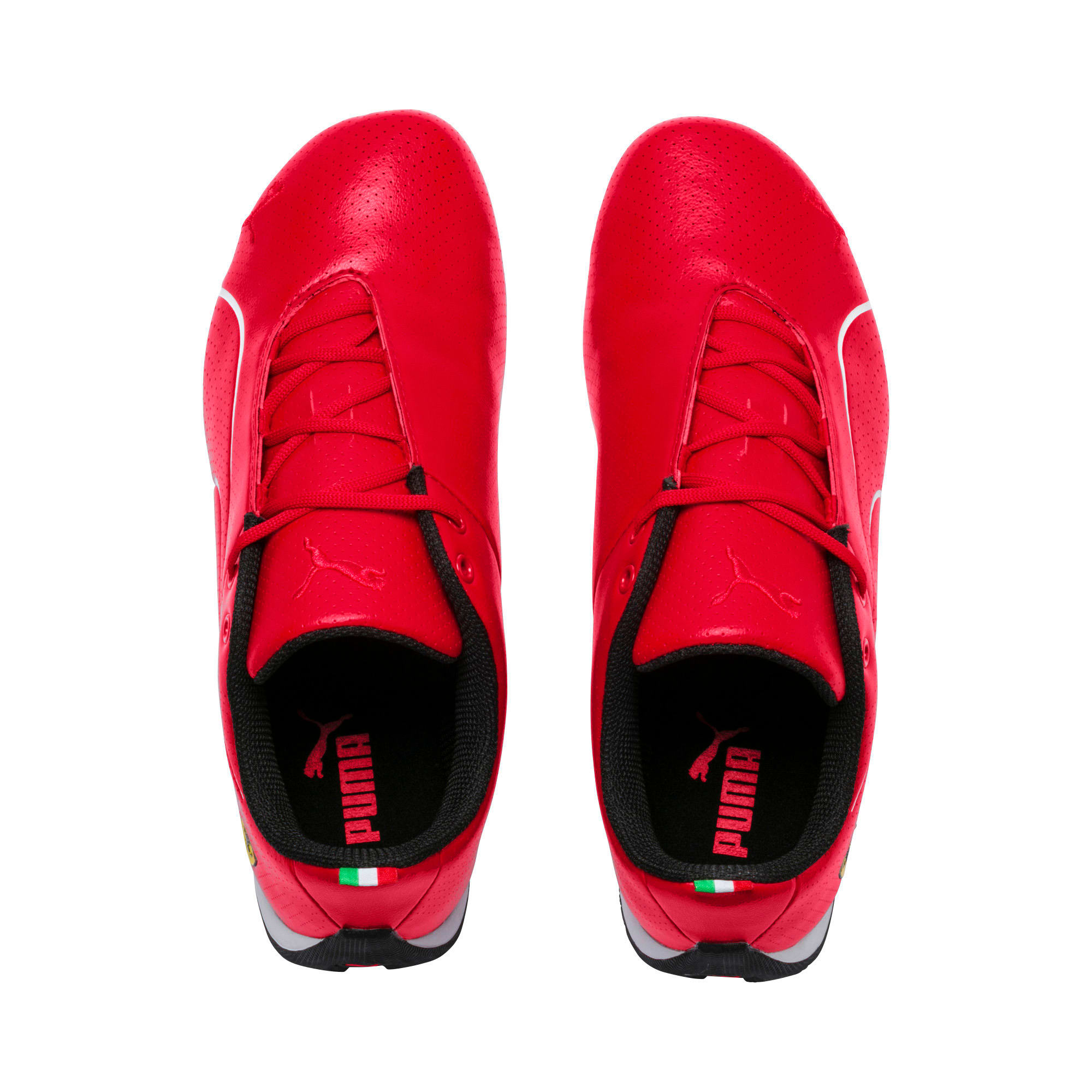 Thumbnail 6 of Scuderia Ferrari Future Cat Ultra Shoes JR, Rosso Corsa-Puma White, medium
