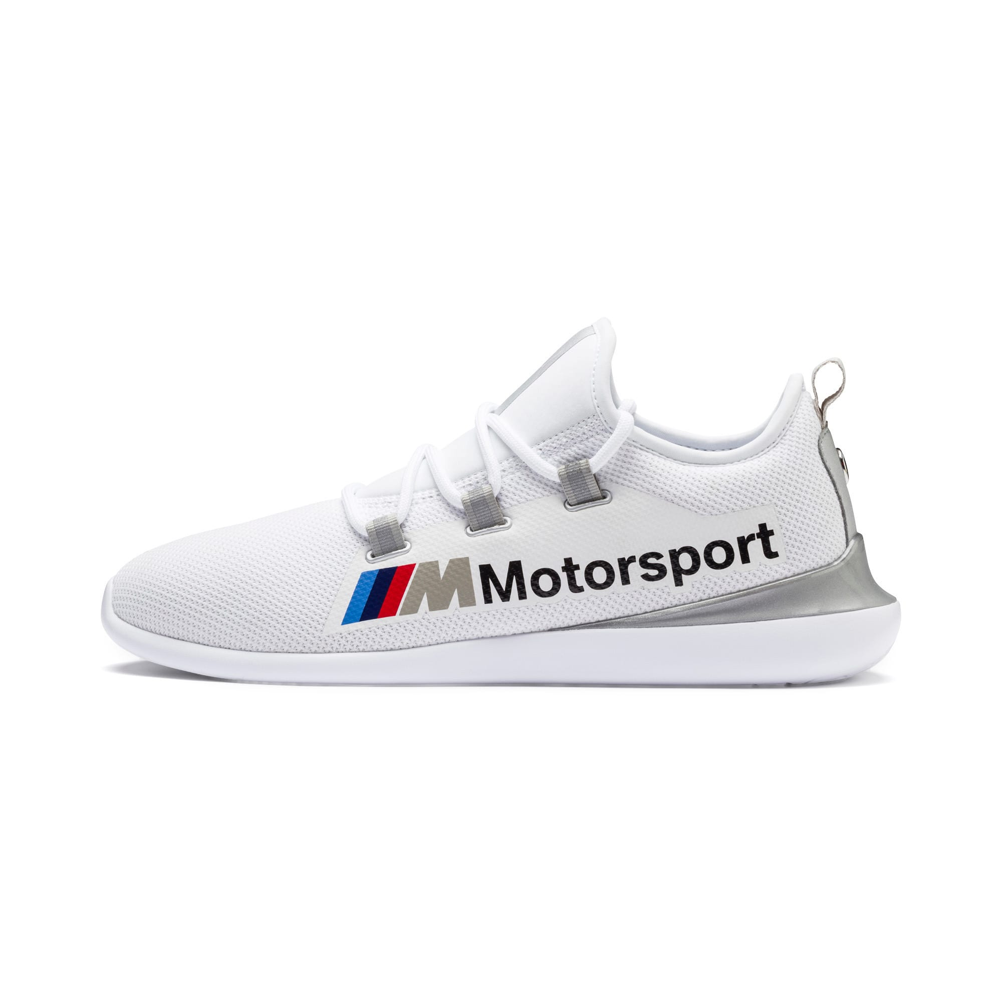Thumbnail 1 of BMW M Motorsport Evo Cat Racer, Puma White-Puma Silver, medium