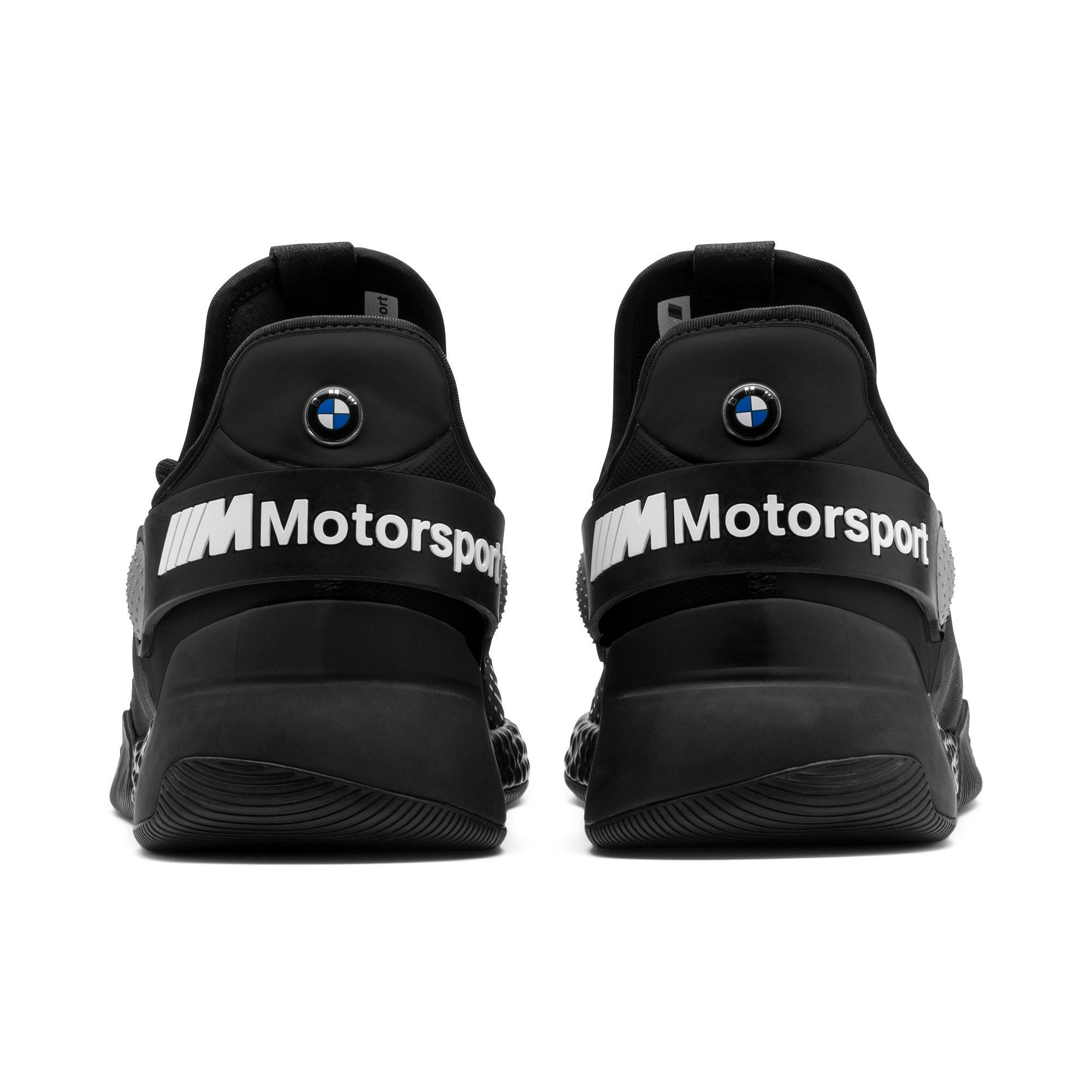 Miniatura 4 de Zapatos para correr BMW M Motorsport HYBRID para hombre, Negro-Negro-Blanco, mediano