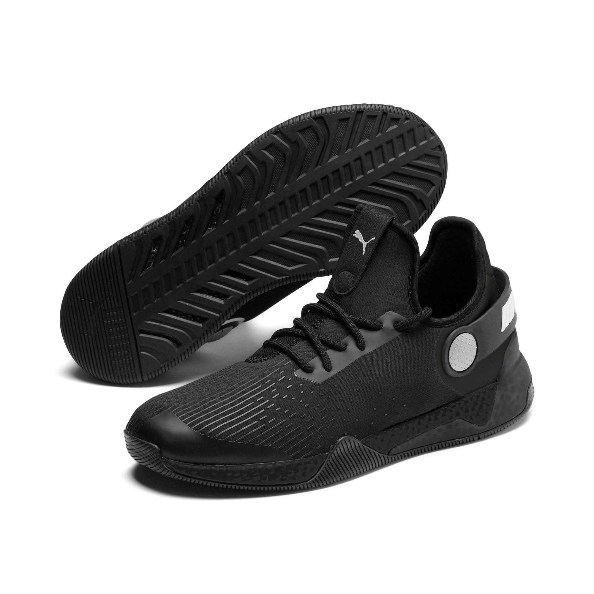 Miniatura 3 de Zapatos para correr BMW M Motorsport HYBRID para hombre, Negro-Negro-Blanco, mediano