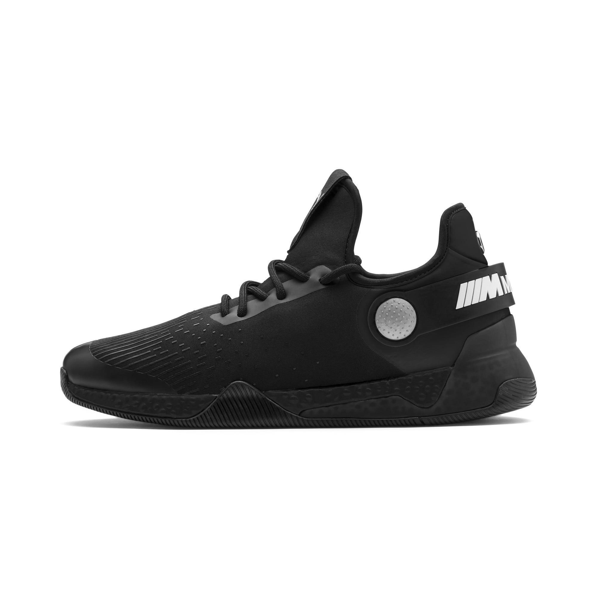 Miniatura 1 de Zapatos para correr BMW M Motorsport HYBRID para hombre, Negro-Negro-Blanco, mediano