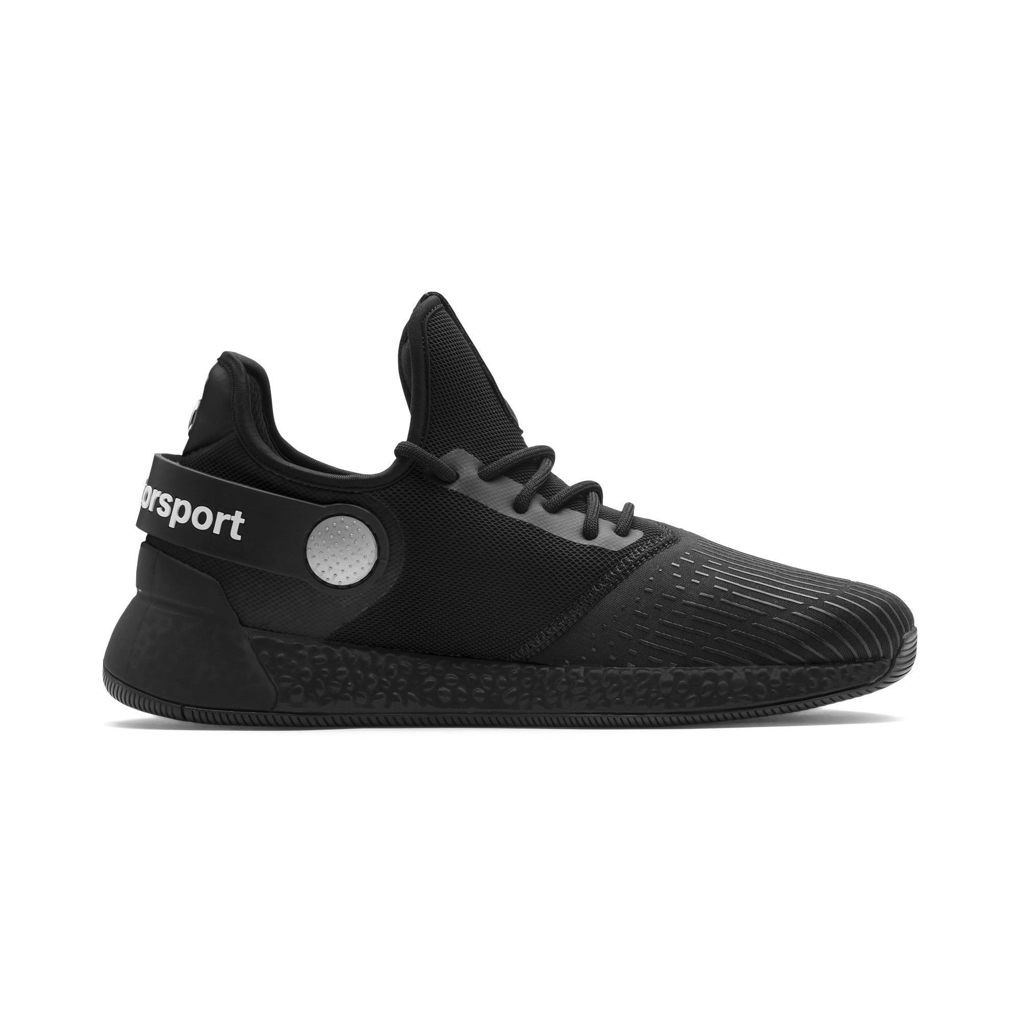 Miniatura 6 de Zapatos para correr BMW M Motorsport HYBRID para hombre, Negro-Negro-Blanco, mediano