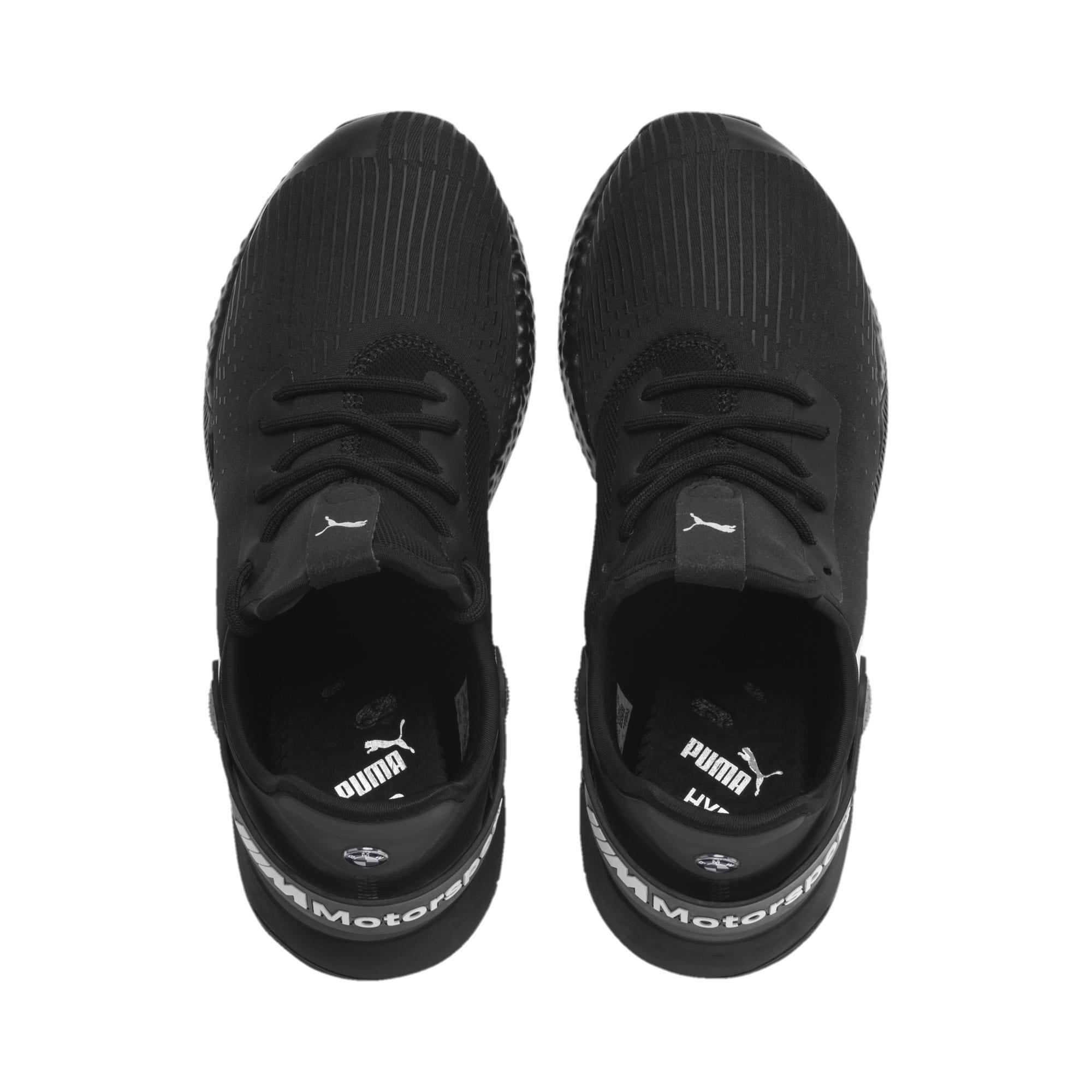 Miniatura 7 de Zapatos para correr BMW M Motorsport HYBRID para hombre, Negro-Negro-Blanco, mediano