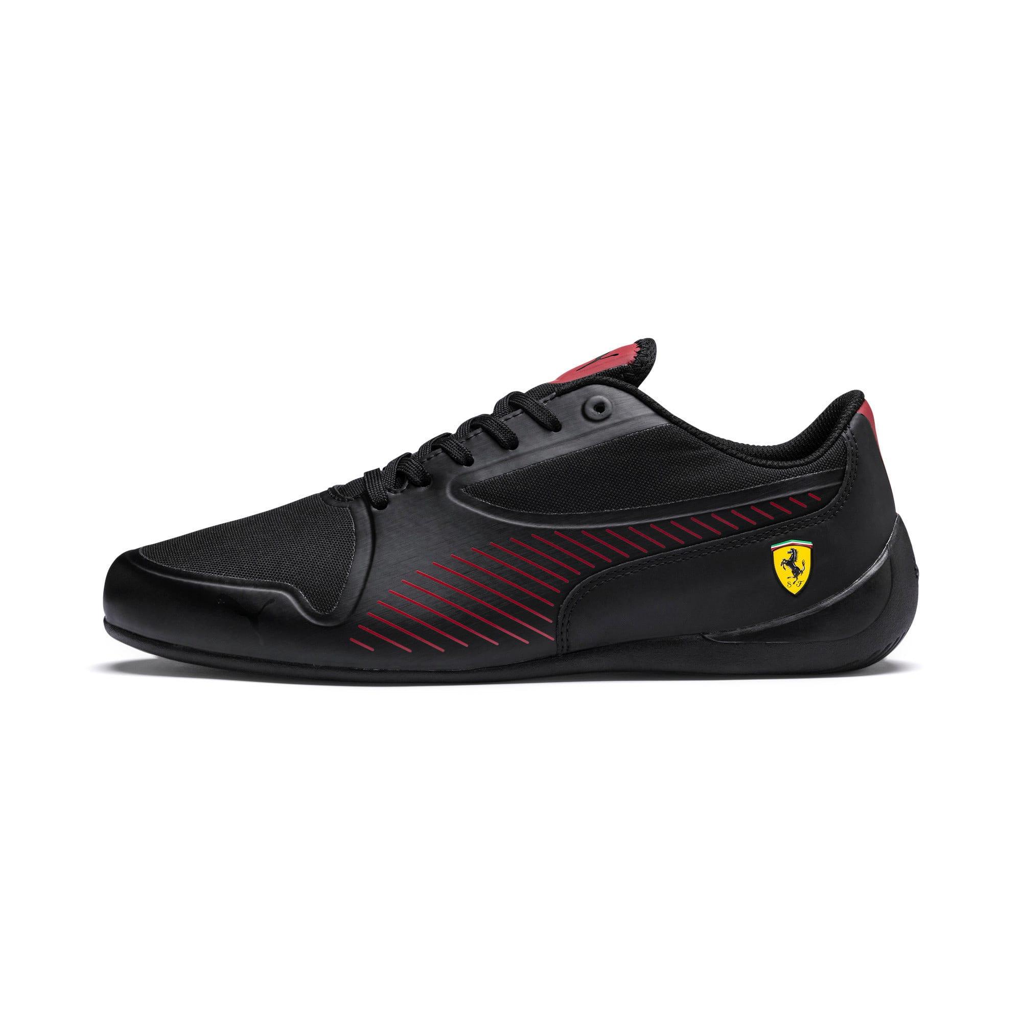 Thumbnail 1 of Ferrari Drift Cat 7 Ultra Trainers, Puma Black-Rosso Corsa, medium-IND