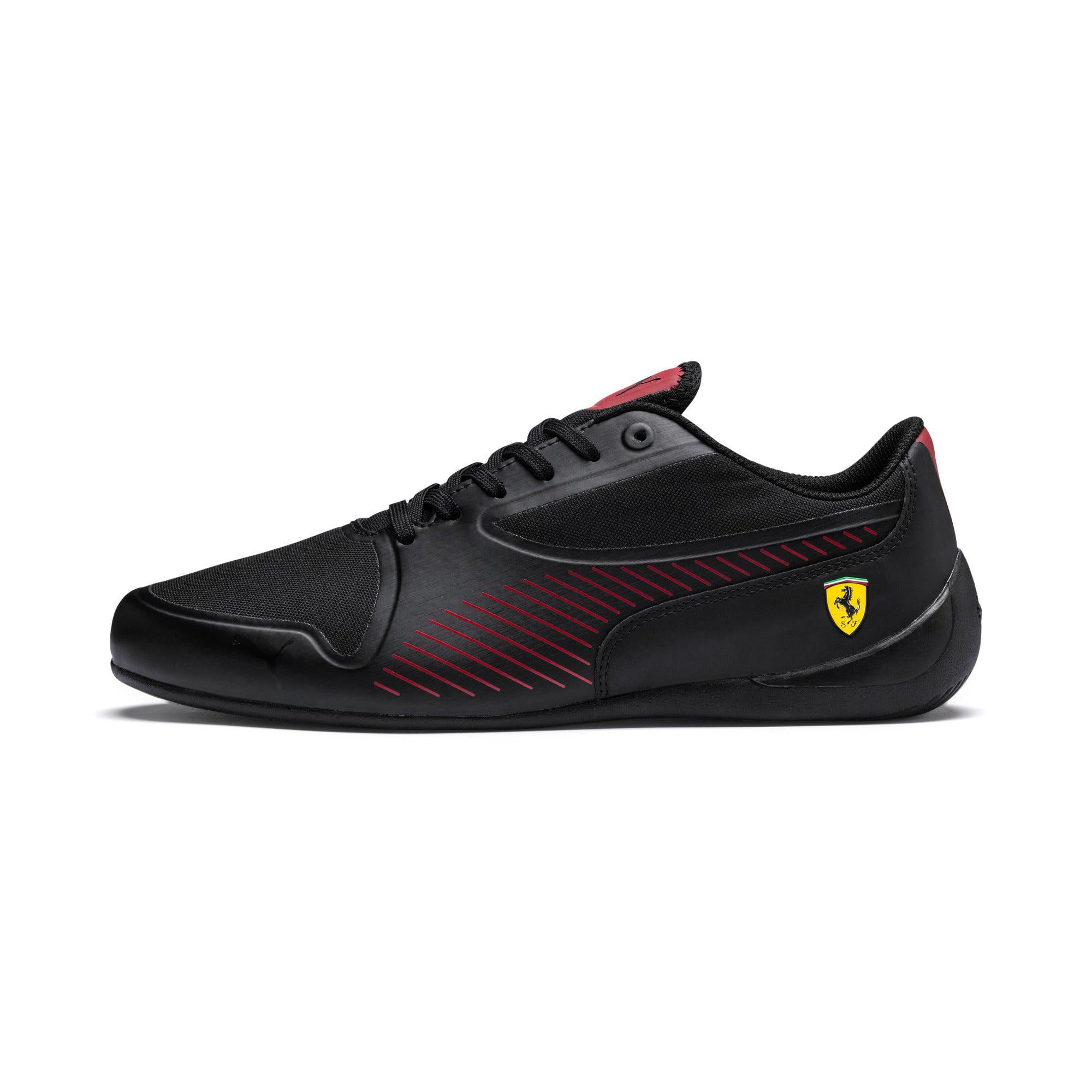 Thumbnail 1 of Scuderia Ferrari Drift Cat 7 Ultra Shoes, Puma Black-Rosso Corsa, medium