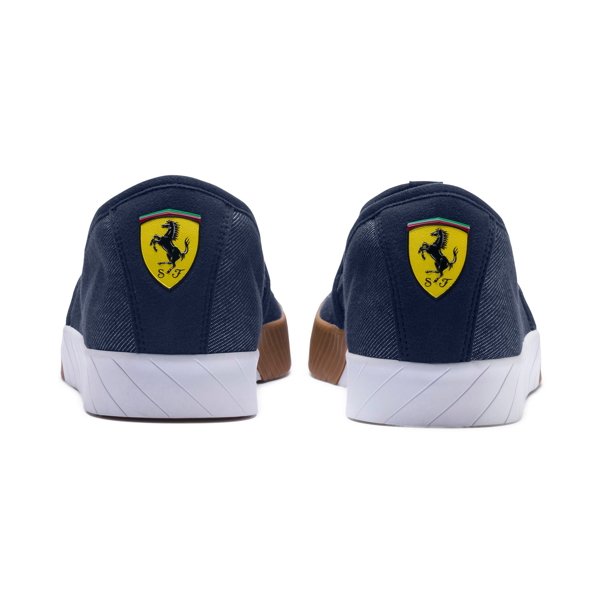 Thumbnail 3 of Scuderia Ferrari Men's Slip-On Track Shoes, Peacoat-Peacoat, medium