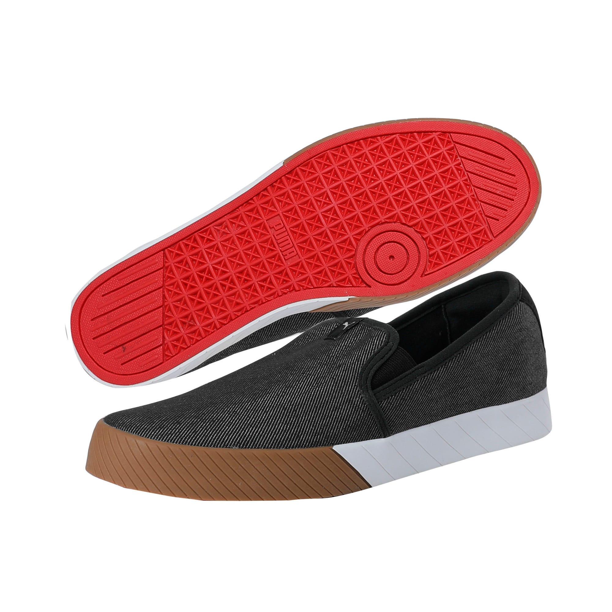 Thumbnail 2 of SF Slip On Track, Puma Black-Puma Black, medium-IND