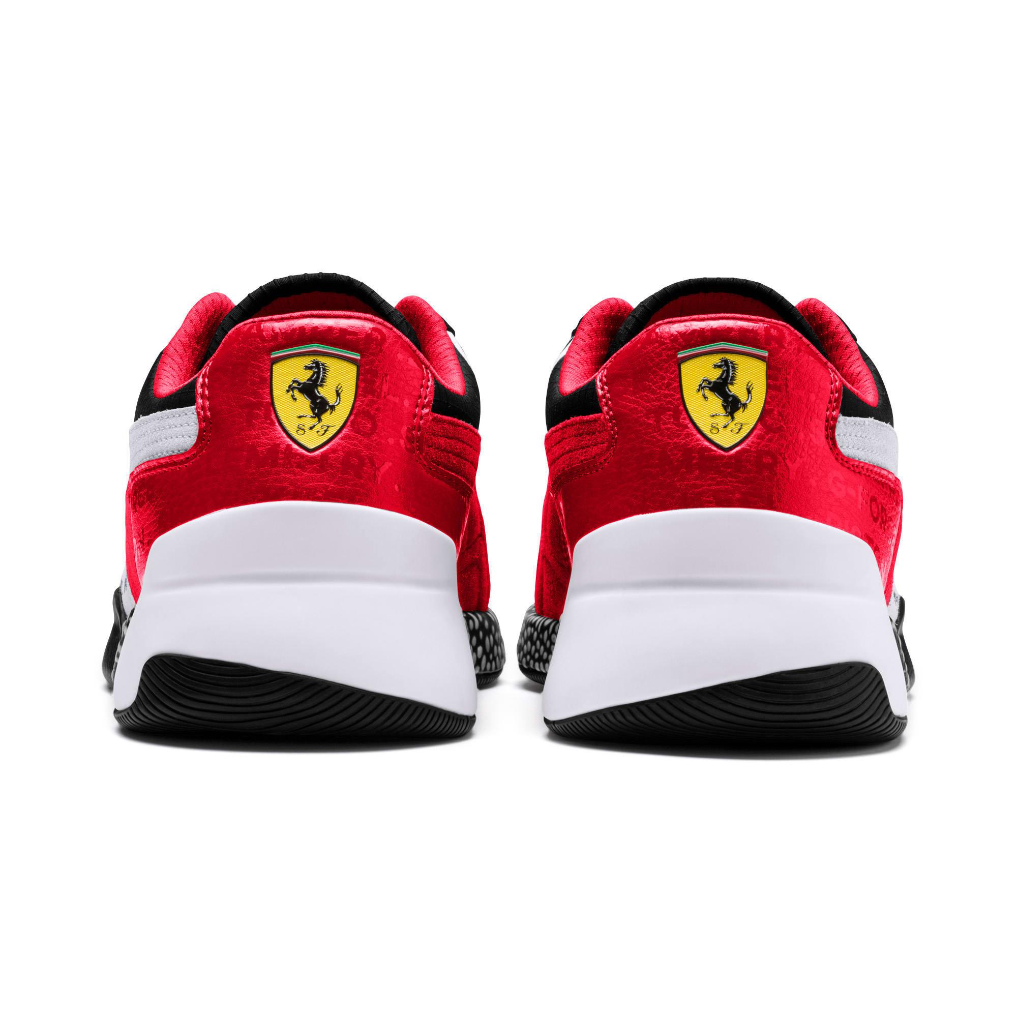 Thumbnail 4 of Ferrari Speed HYBRID Men's Trainers, Rosso Corsa-White-Black, medium