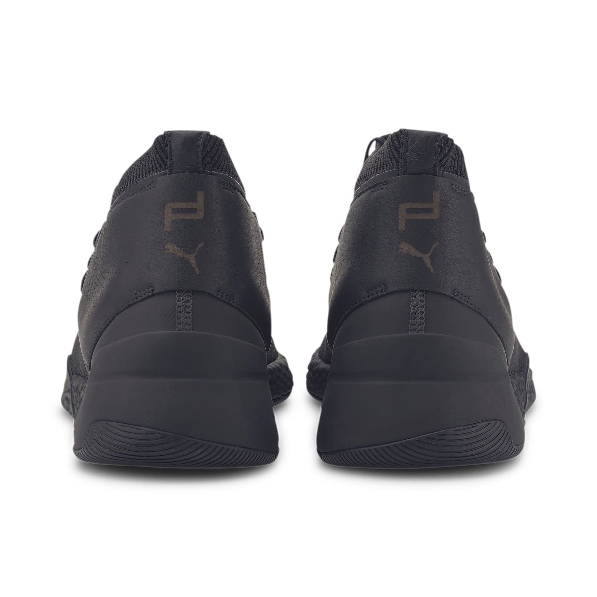 Thumbnail 4 of Porsche Design Hybrid evoKNIT Men's Trainers, Jet Black-Jet Black-JetBlack, medium