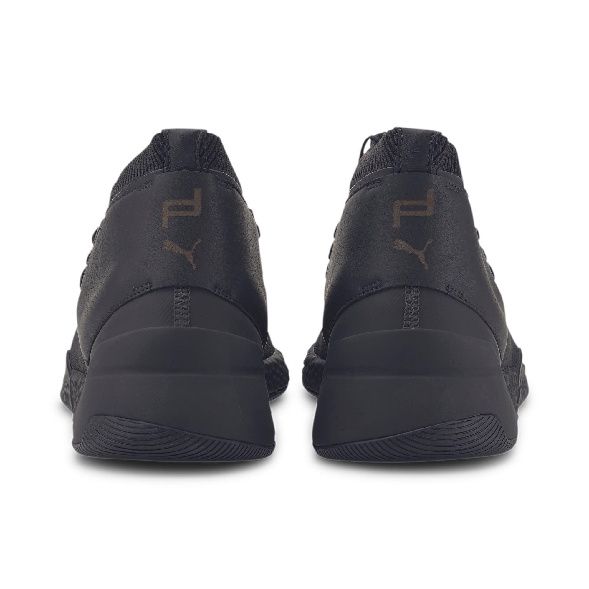 Thumbnail 4 of Porsche Design HYBRID evoKNIT Men's Running Shoes, Jet Black-Jet Black-JetBlack, medium