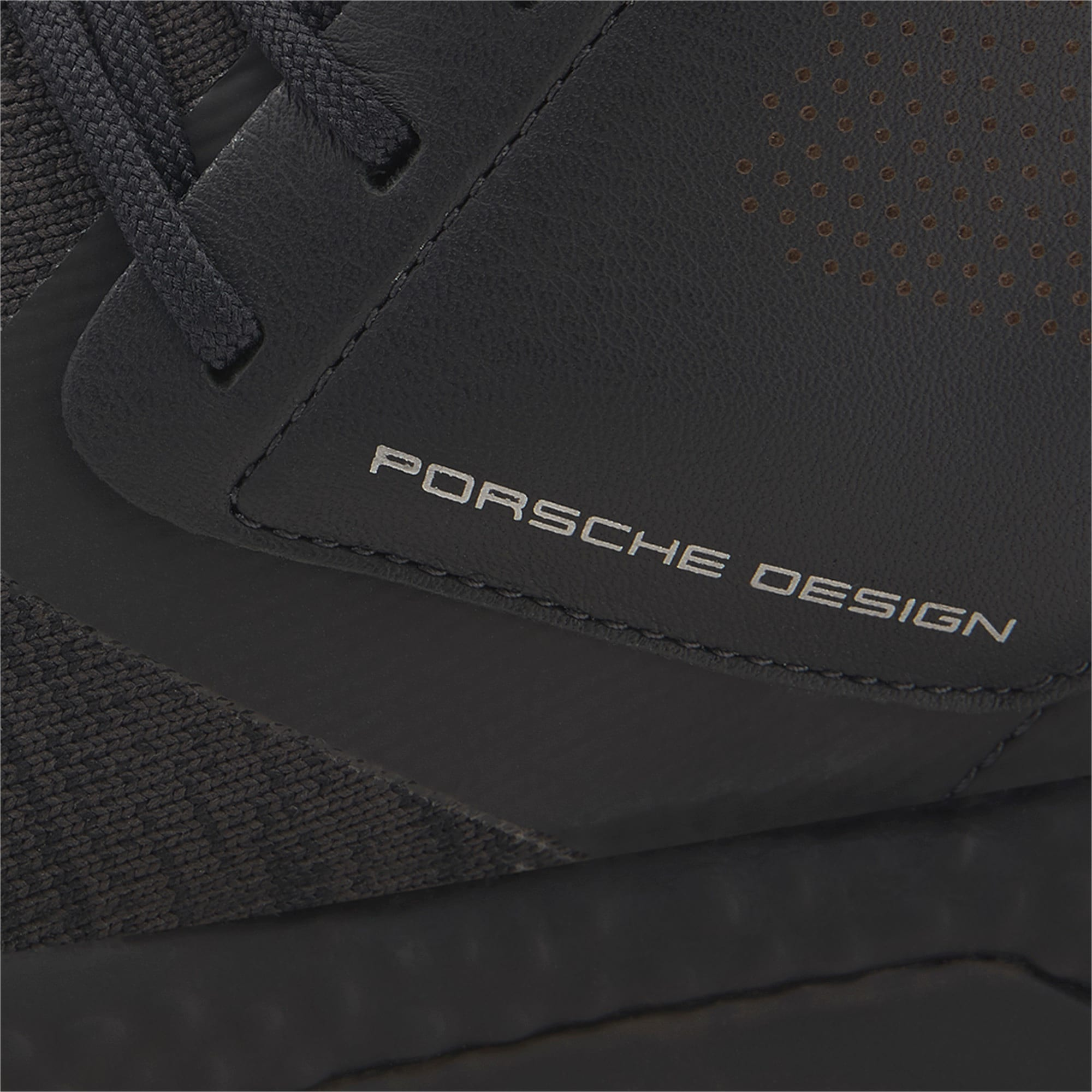 Thumbnail 8 of Porsche Design Hybrid evoKNIT Men's Trainers, Jet Black-Jet Black-JetBlack, medium