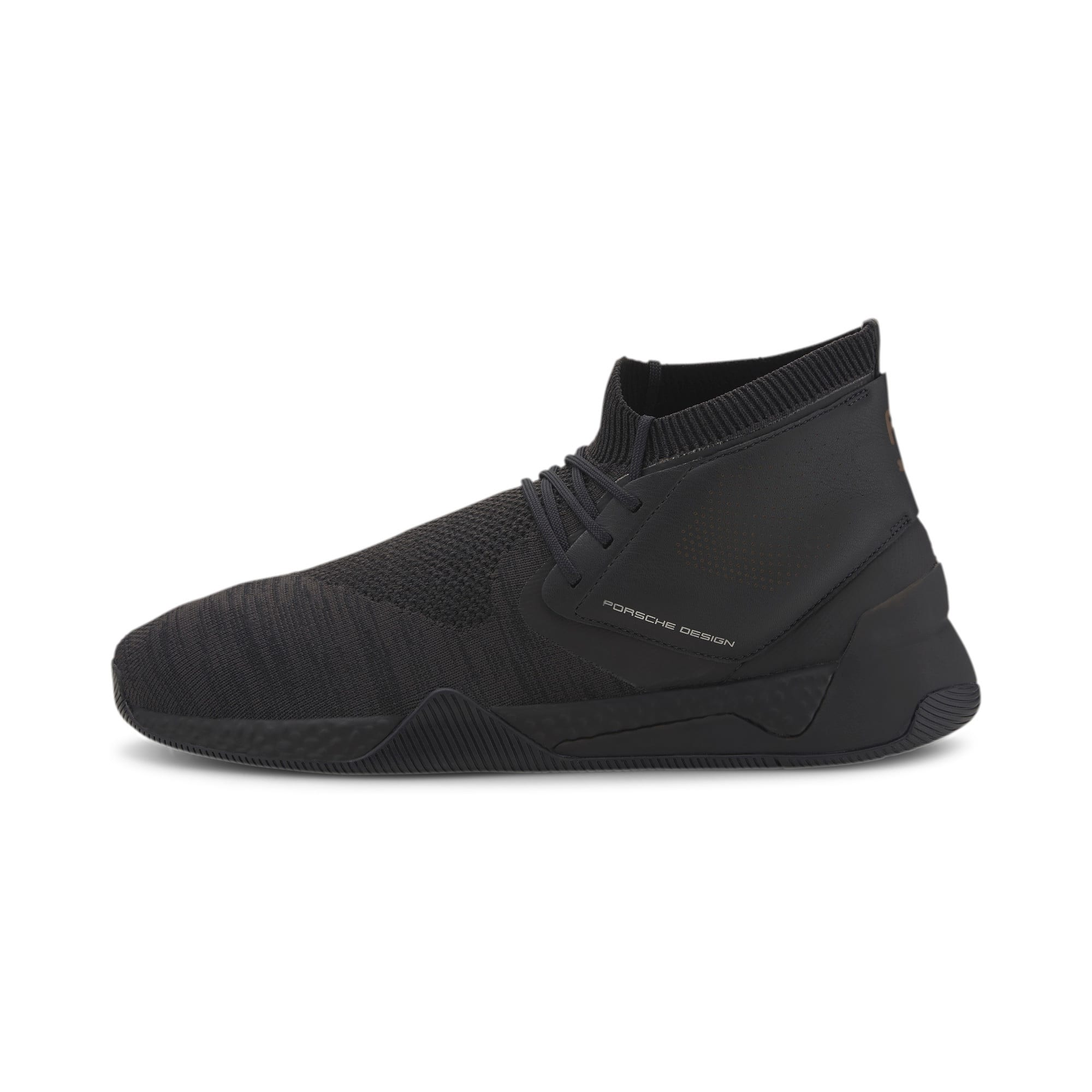 Thumbnail 1 of Porsche Design Hybrid evoKNIT Men's Trainers, Jet Black-Jet Black-JetBlack, medium