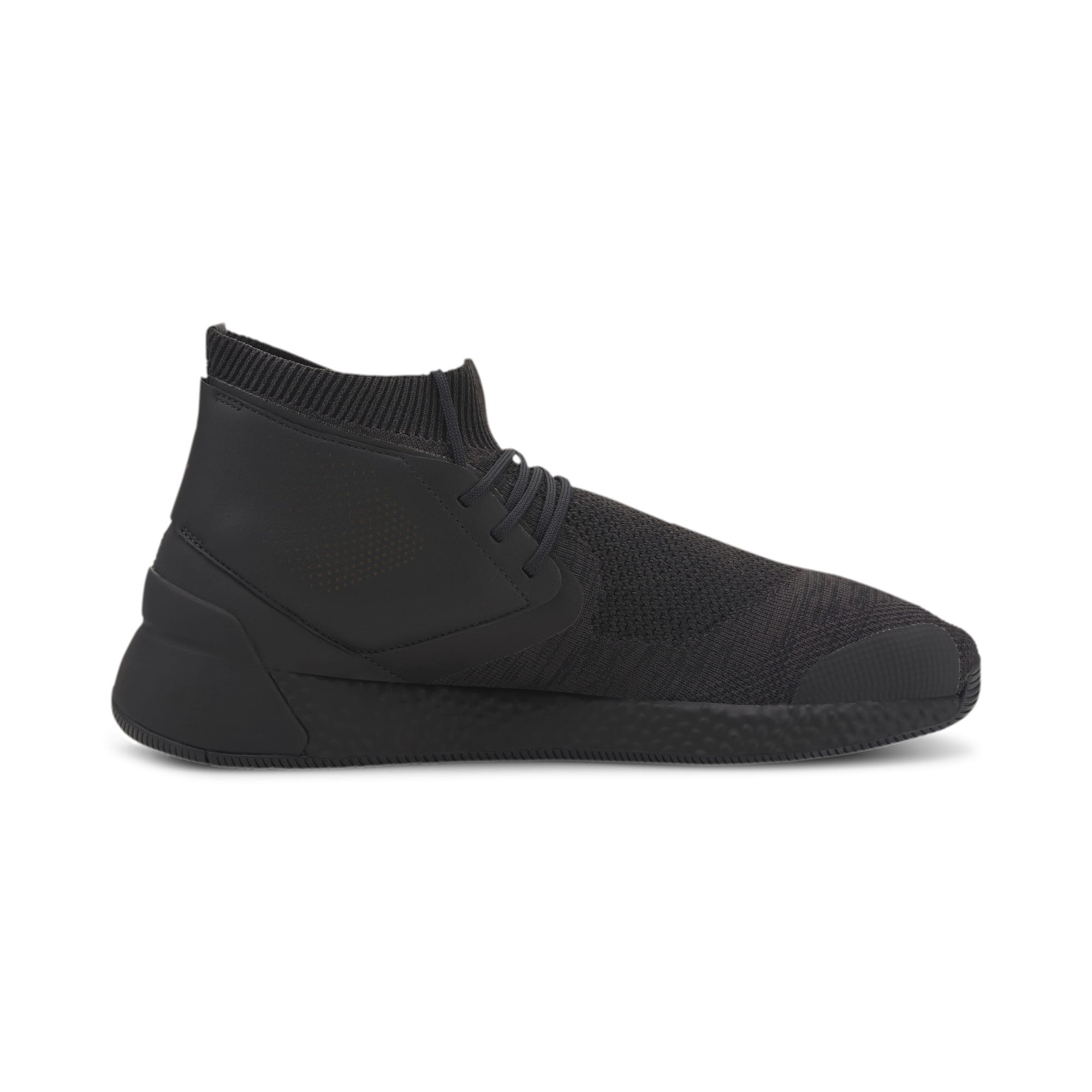 Thumbnail 6 of Porsche Design Hybrid evoKNIT Men's Trainers, Jet Black-Jet Black-JetBlack, medium