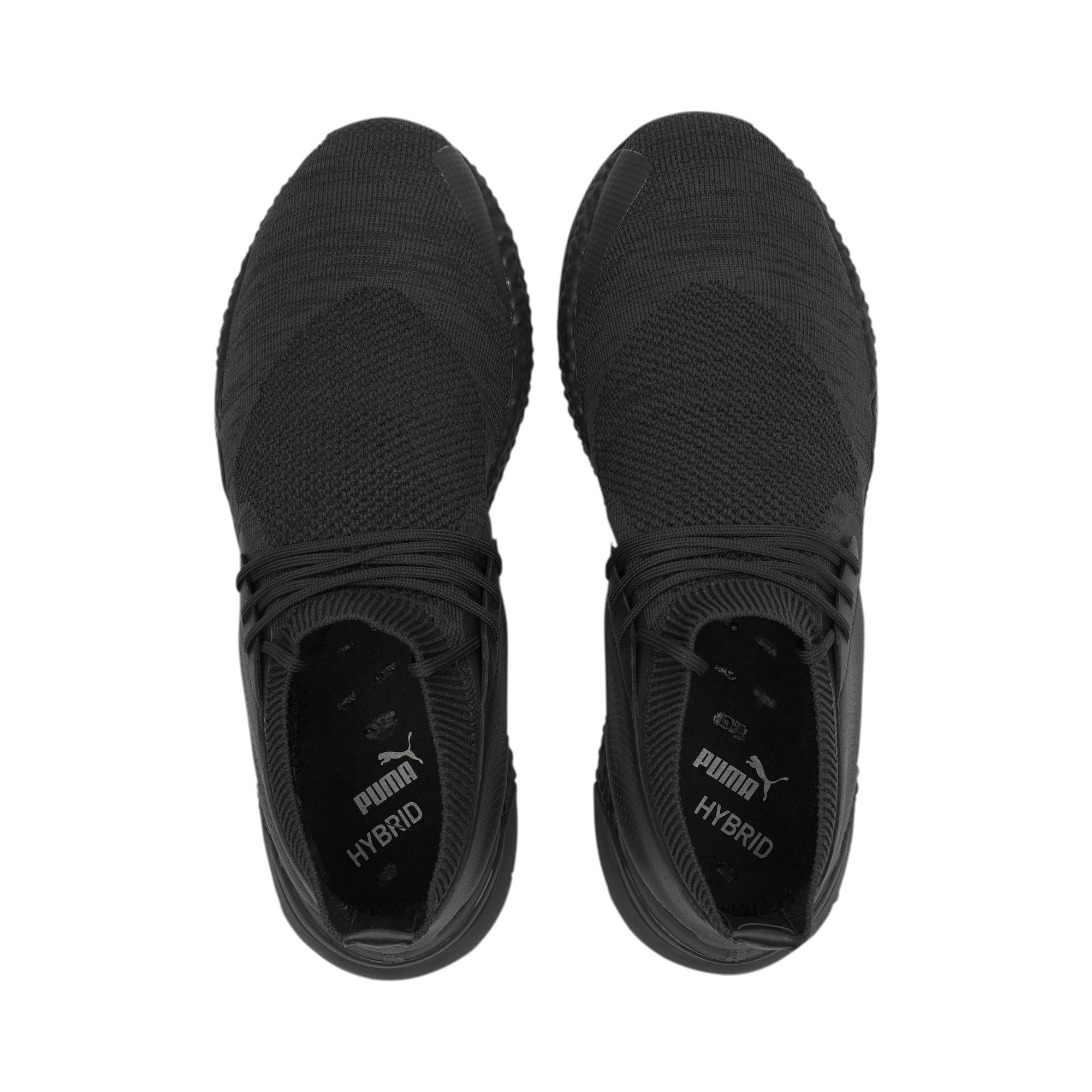 Thumbnail 7 of Porsche Design Hybrid evoKNIT Men's Trainers, Jet Black-Jet Black-JetBlack, medium