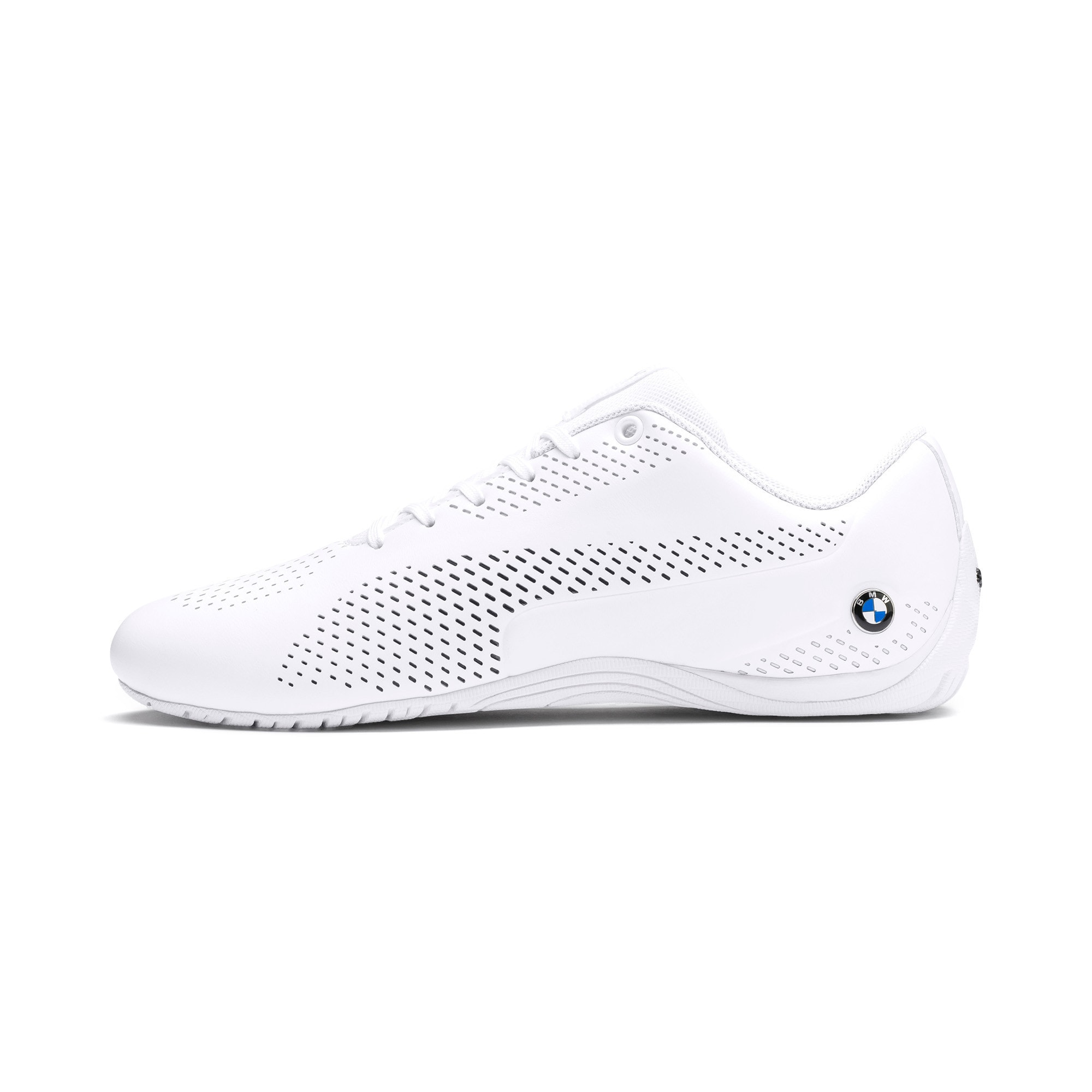 Thumbnail 1 of BMW M Motorsport Drift Cat 5 Ultra II Shoes, Puma White-Puma Black, medium