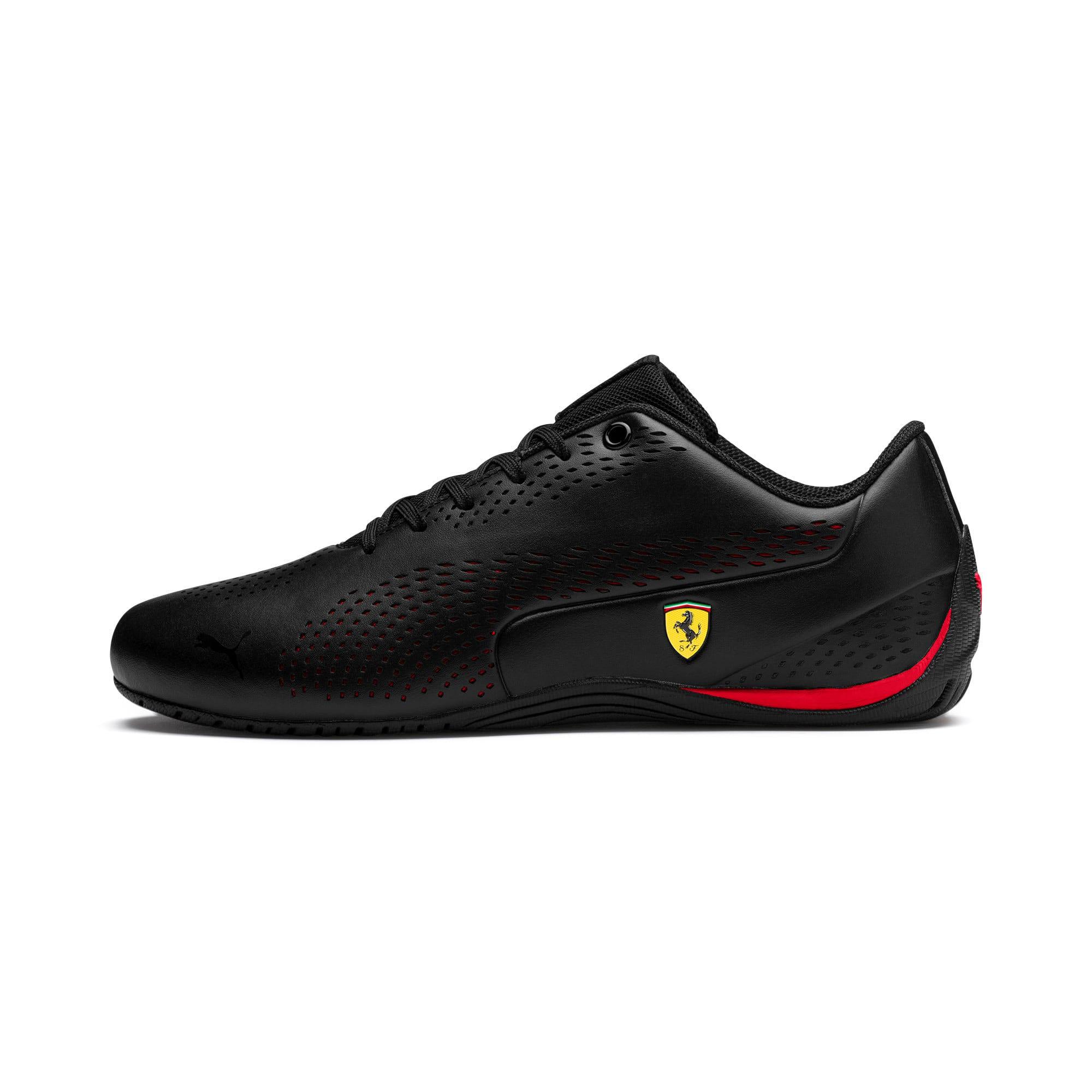 Thumbnail 1 of Ferrari Drift Cat 5 Ultra II Trainers, Puma Black-Rosso Corsa, medium-IND