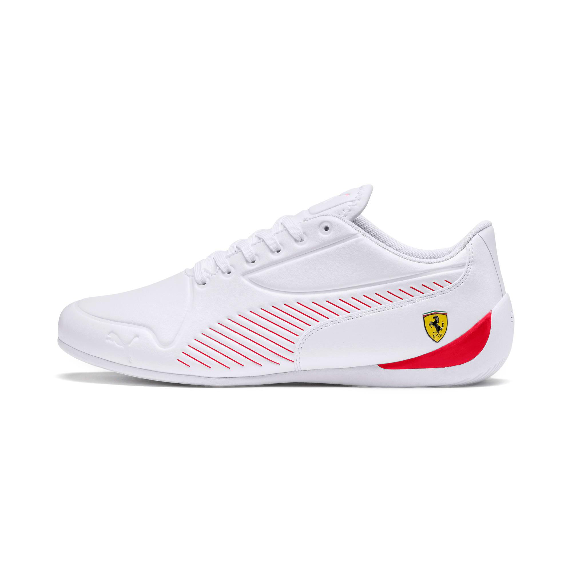 Thumbnail 1 of Scuderia Ferrari Drift Cat 7S Ultra Men's Shoes, Puma White-Rosso Corsa, medium