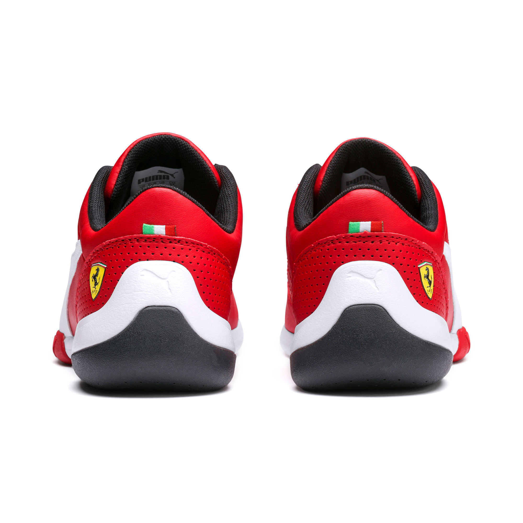 Thumbnail 3 of Ferrari Kart Cat III Youth Trainers, Rosso Corsa-Puma White, medium-SEA