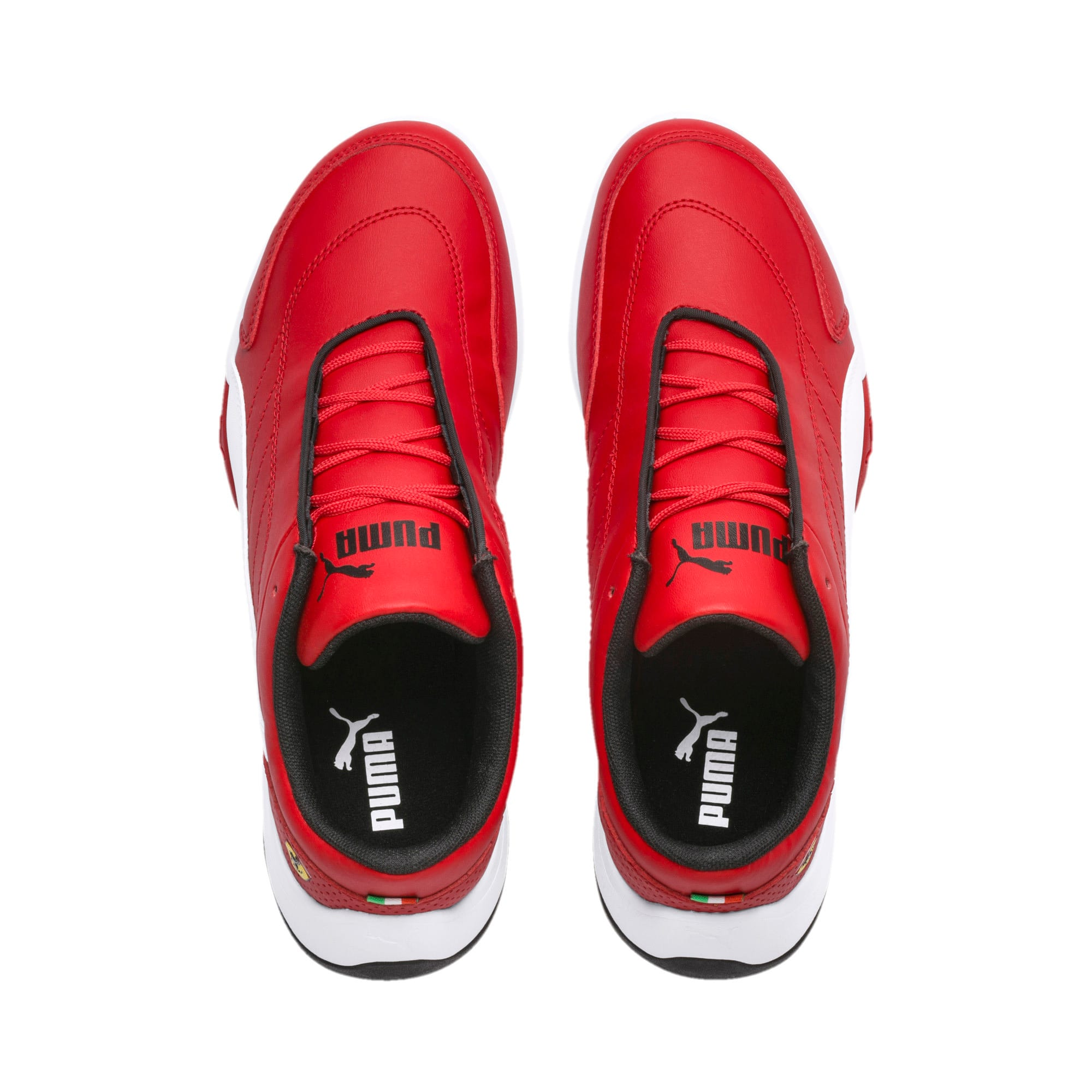 Thumbnail 6 of Ferrari Kart Cat III Youth Trainers, Rosso Corsa-Puma White, medium-SEA