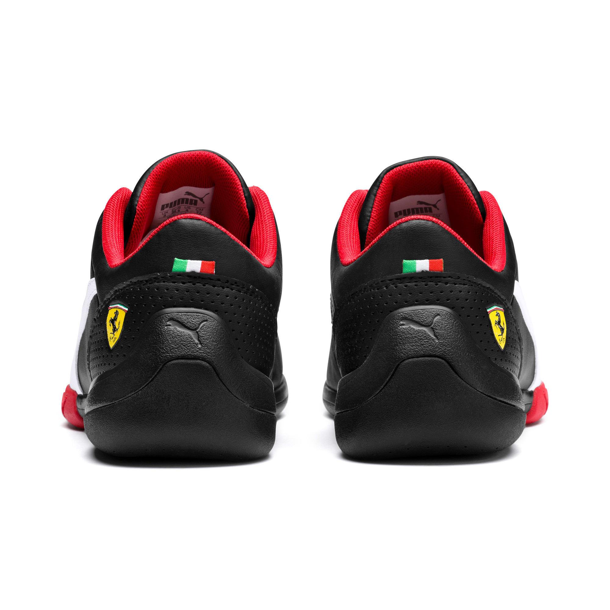 Thumbnail 3 of Ferrari Kart Cat III Youth Trainers, Puma Black-Puma White, medium-IND