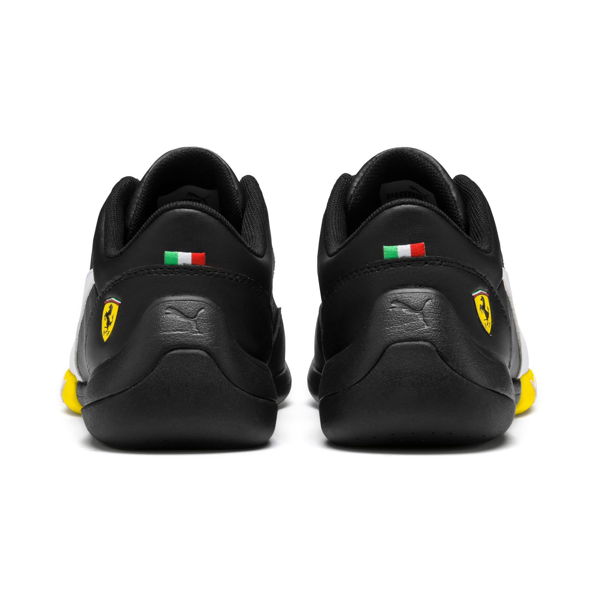 Thumbnail 3 of Ferrari Kart Cat III Youth Trainers, Black-White-Blazing Yellow, medium-IND