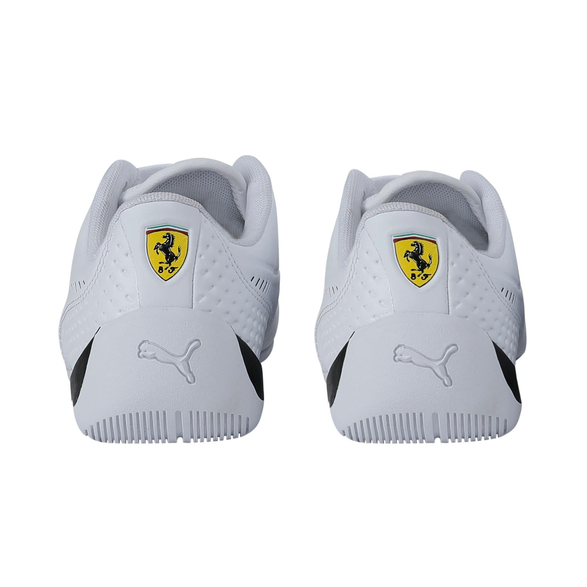 Thumbnail 3 of Ferrari Drift Cat 7S Ultra Youth Trainers, Puma White-Puma Black, medium-IND