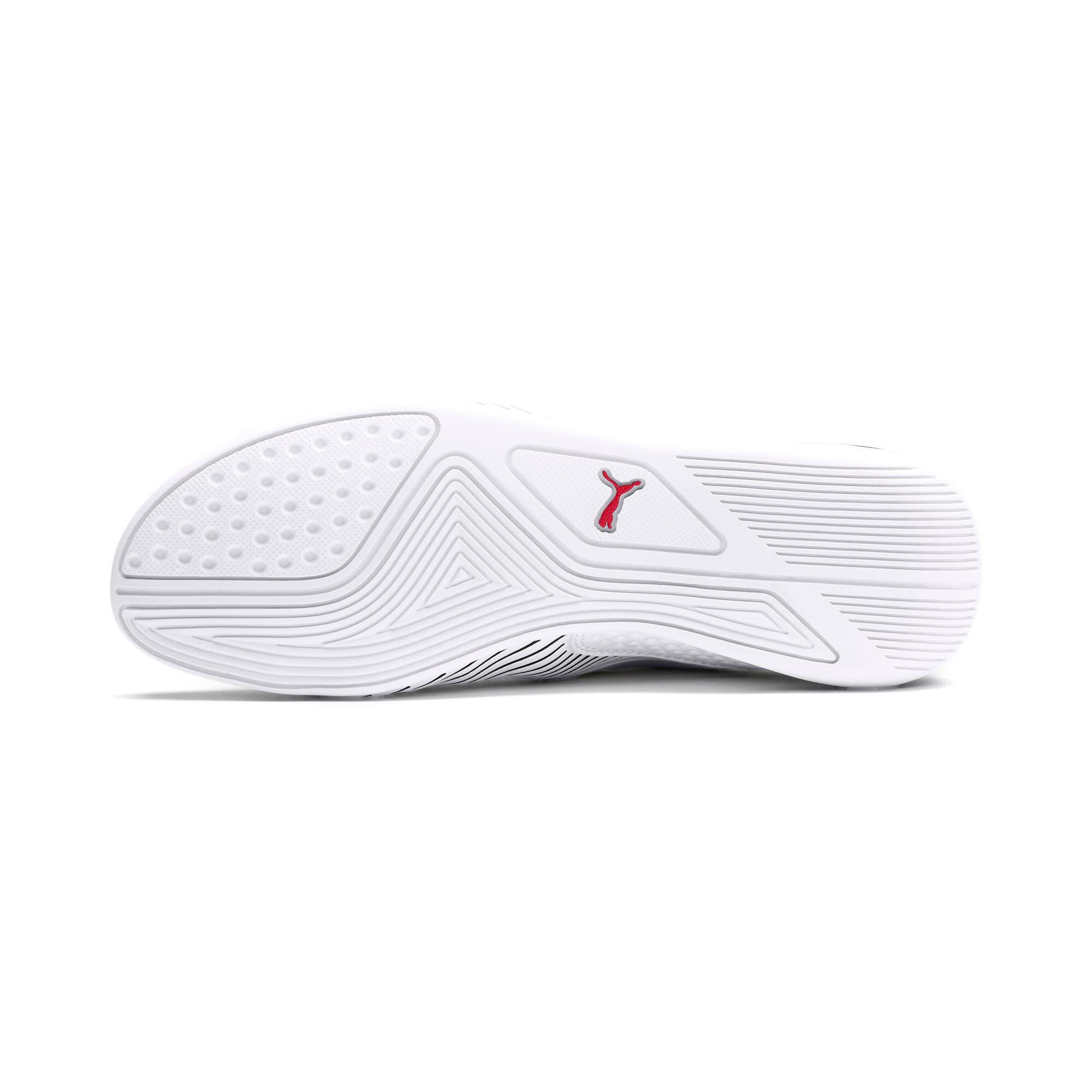 Thumbnail 4 of Scuderia Ferrari Drift Cat 7S Ultra Shoes JR, Puma White-Puma Black, medium