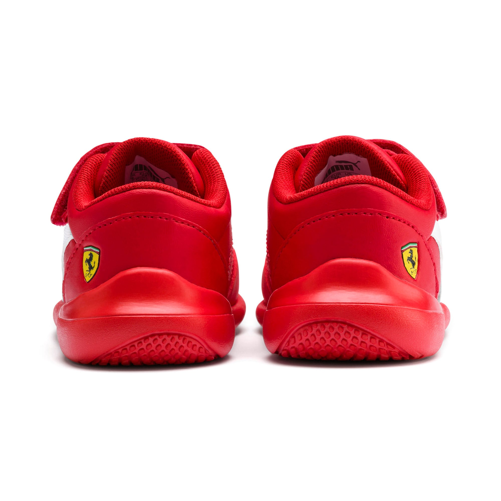Miniatura 3 de Zapatos Scuderia Ferrari Kart Cat III para bebés, Rosso Corsa-Wht-Rosso Corsa, mediano