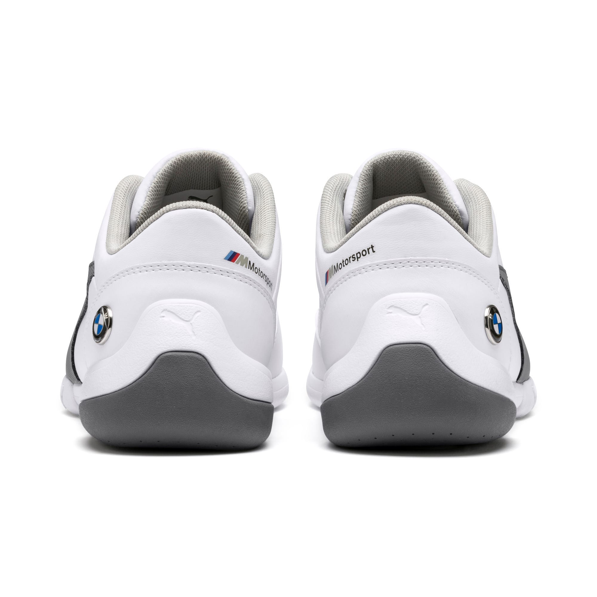 Thumbnail 3 of BMW M Kart Cat III Youth Trainers, Puma White-Smoked Pearl, medium-IND