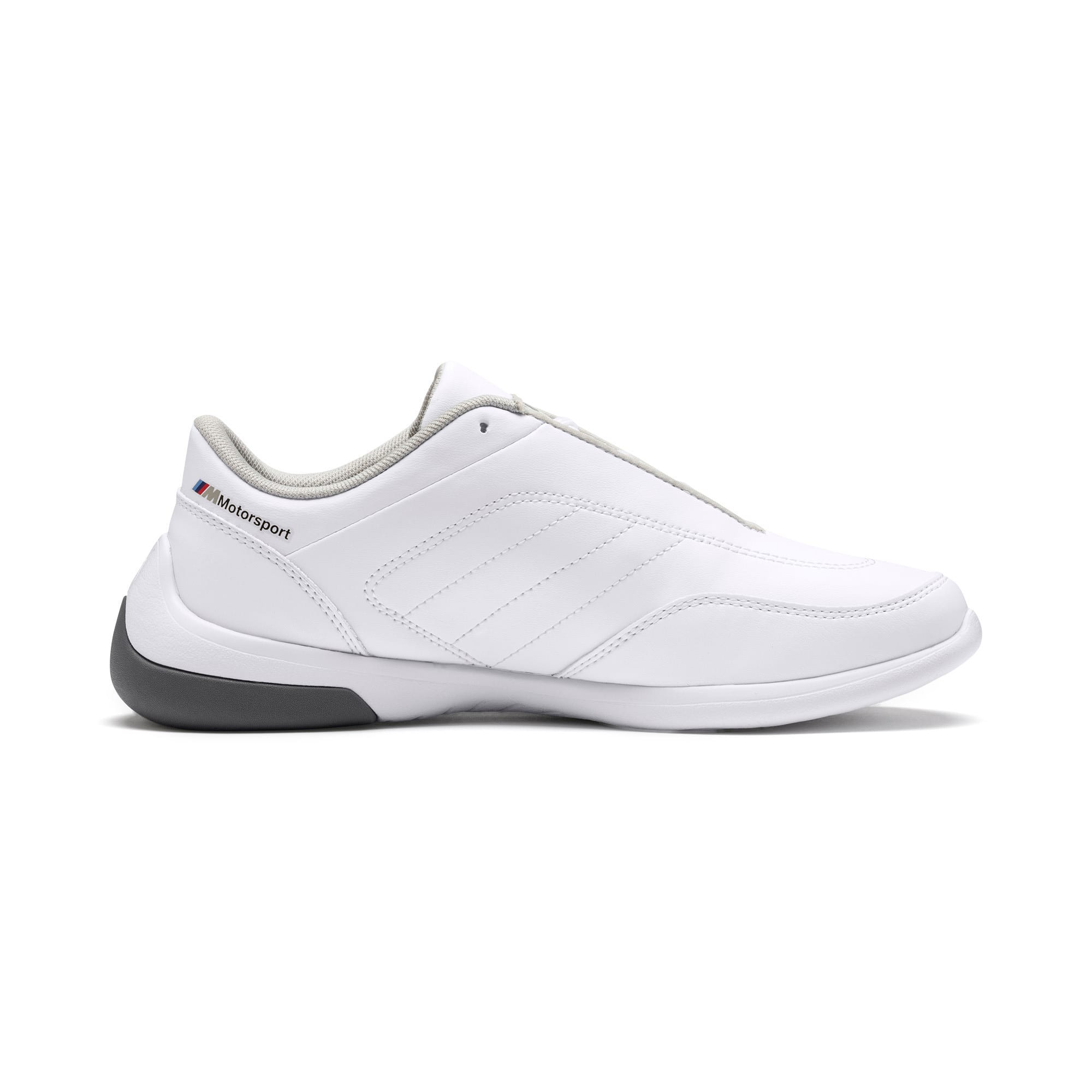 Thumbnail 5 of BMW M Kart Cat III Youth Trainers, Puma White-Smoked Pearl, medium-IND