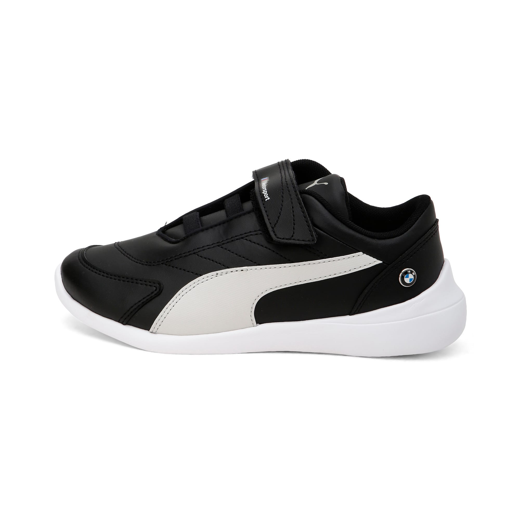 Thumbnail 1 of BMW M Kart Cat III Kids' Trainers, Puma Black-Gray Violet, medium-IND
