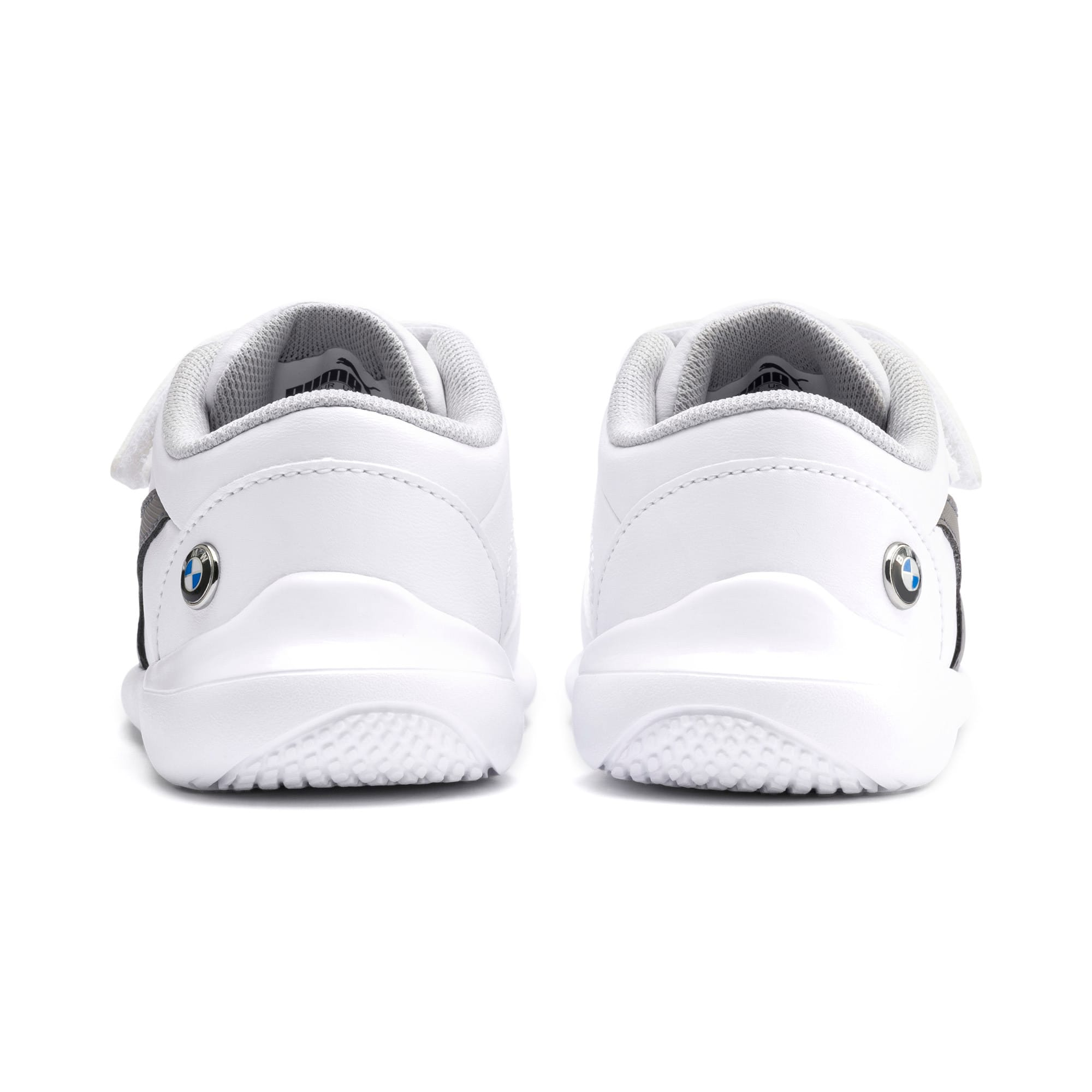 Miniatura 3 de ZapatosBMW MMotorsportKart Cat III para bebé, Puma White-Smoked Pearl, mediano